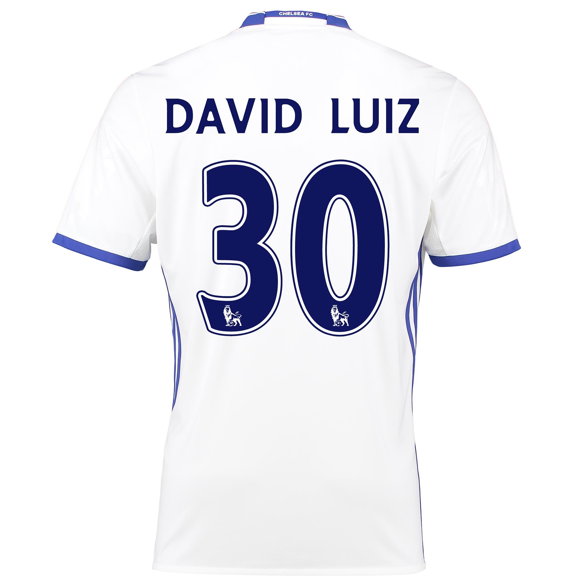 Chelsea Third Shirt 16-17 with David Luiz 30 printing