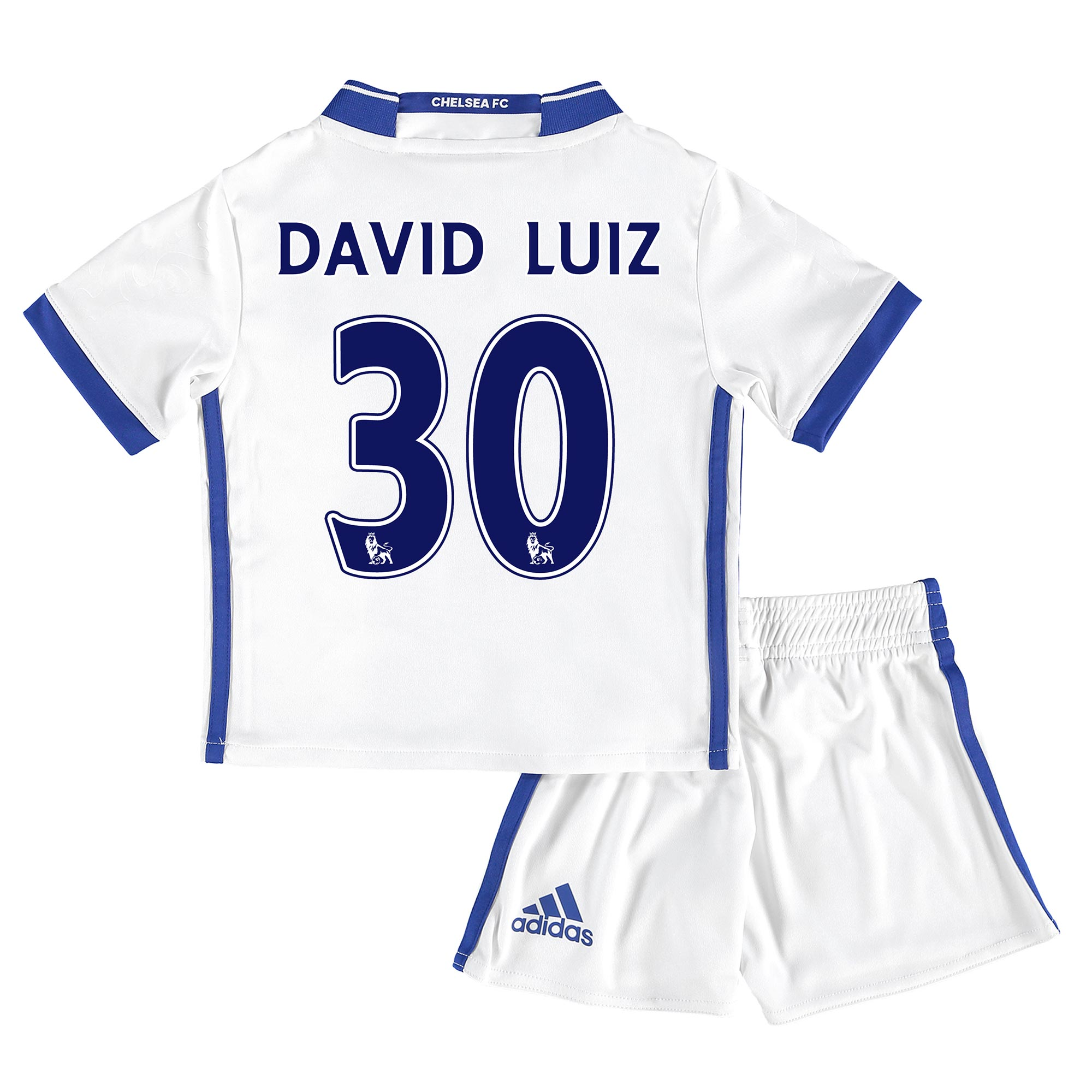 Chelsea Third Mini Kit 16-17 with David Luiz 30 printing