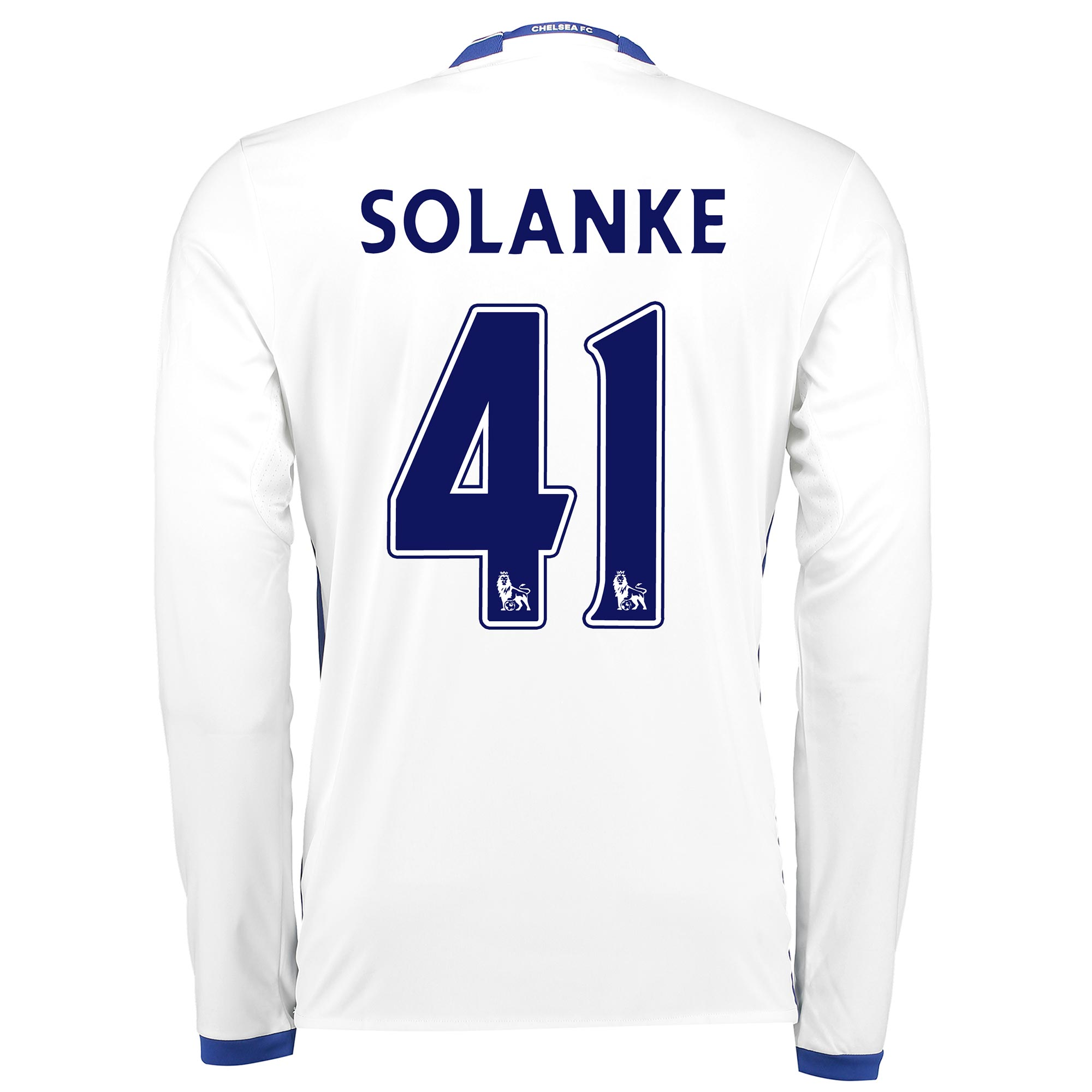 Chelsea Third Shirt 16-17 - Long Sleeve with Solanke 41 printing