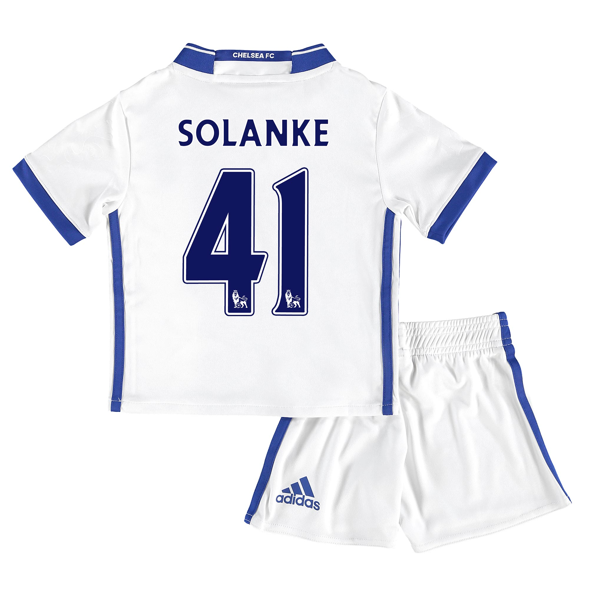 Chelsea Third Mini Kit 16-17 with Solanke 41 printing