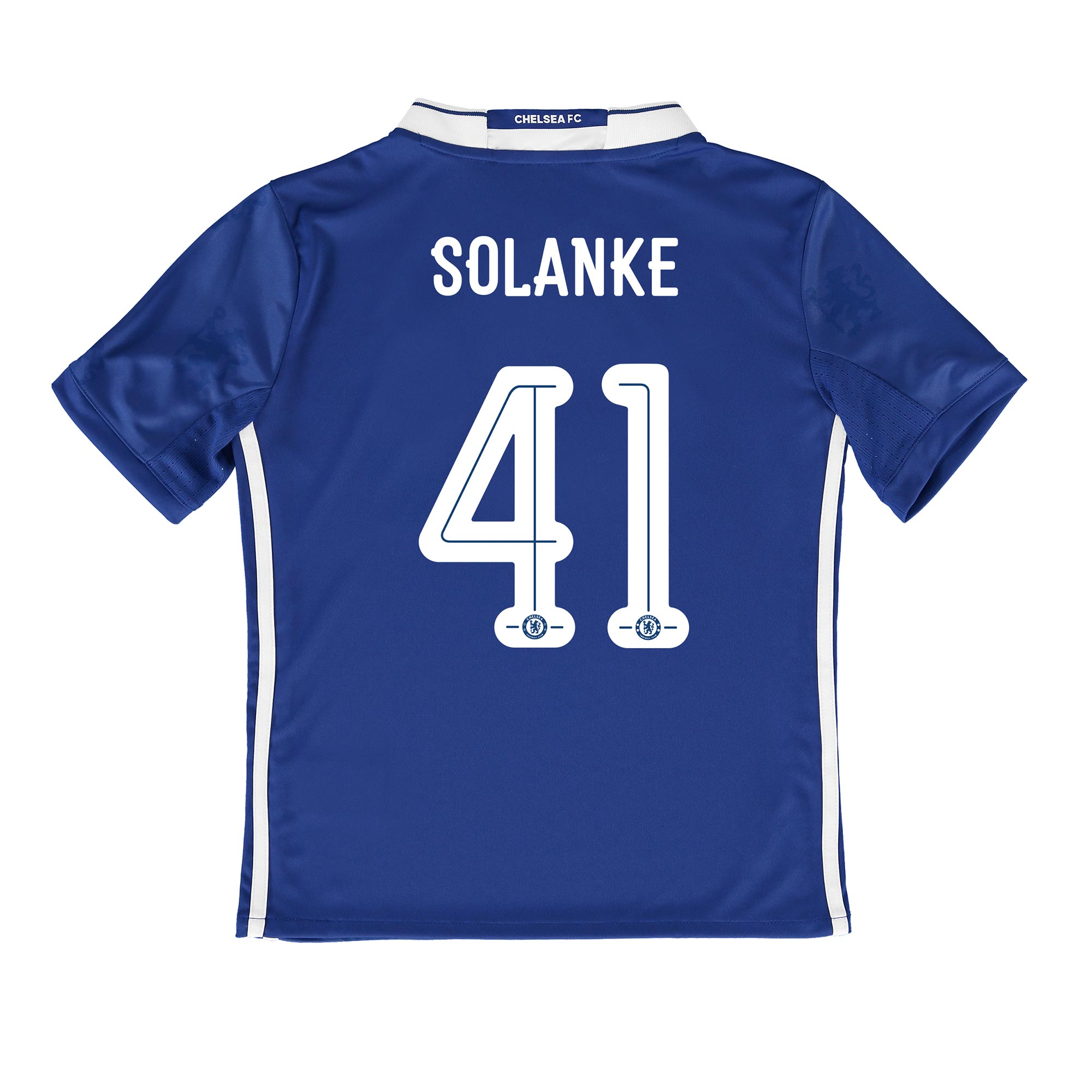 Chelsea Linear Home Shirt 2016-17 - Kids with Solanke 41 printing