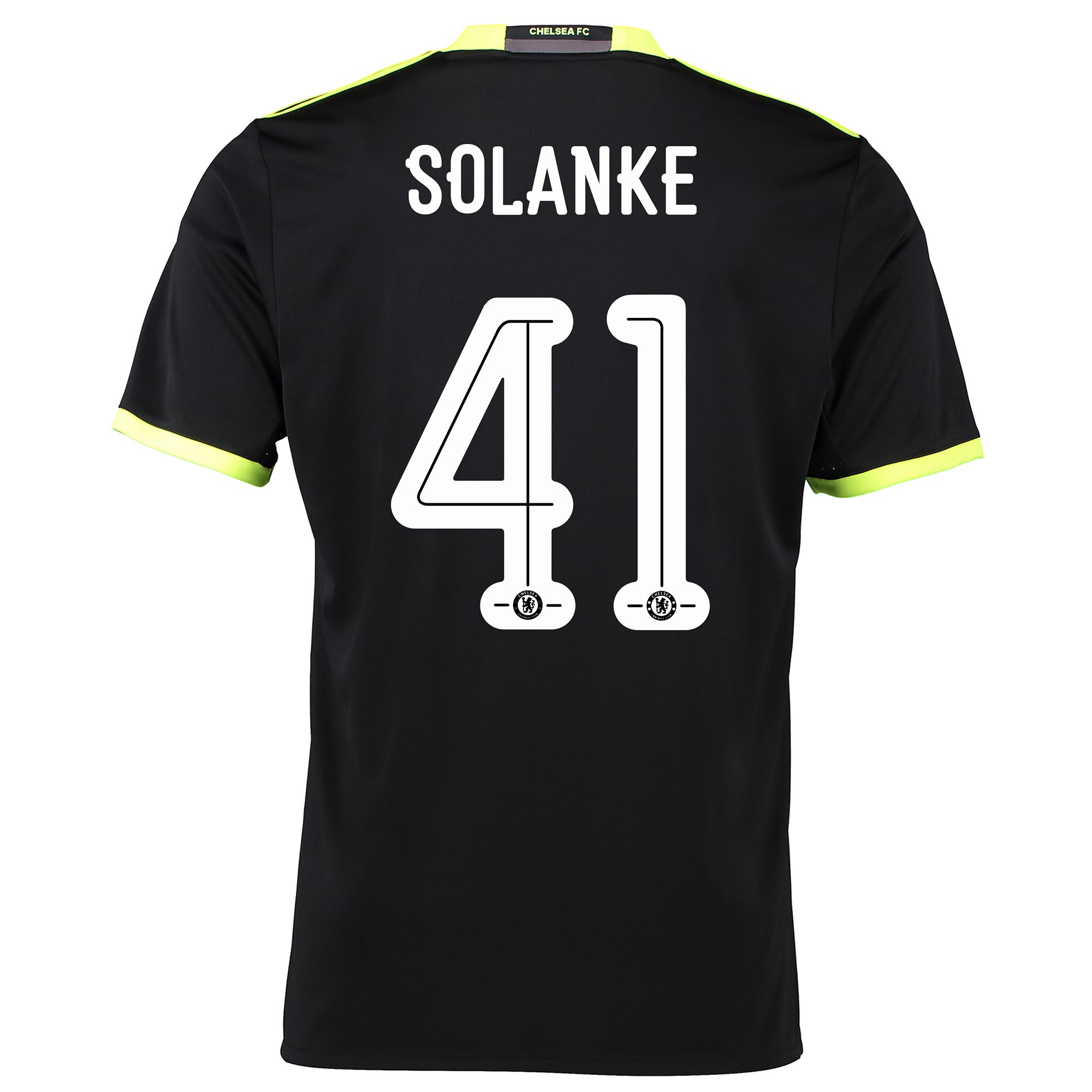 Chelsea Linear Away Shirt 16-17 with Solanke 41 printing