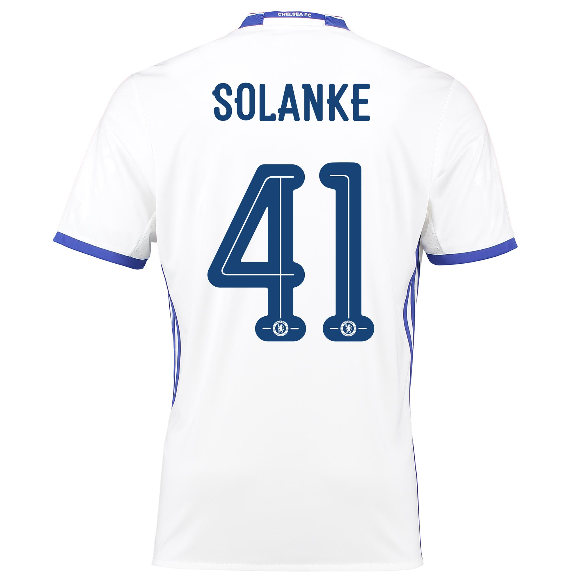Chelsea Linear Third Shirt 16-17 with Solanke 41 printing