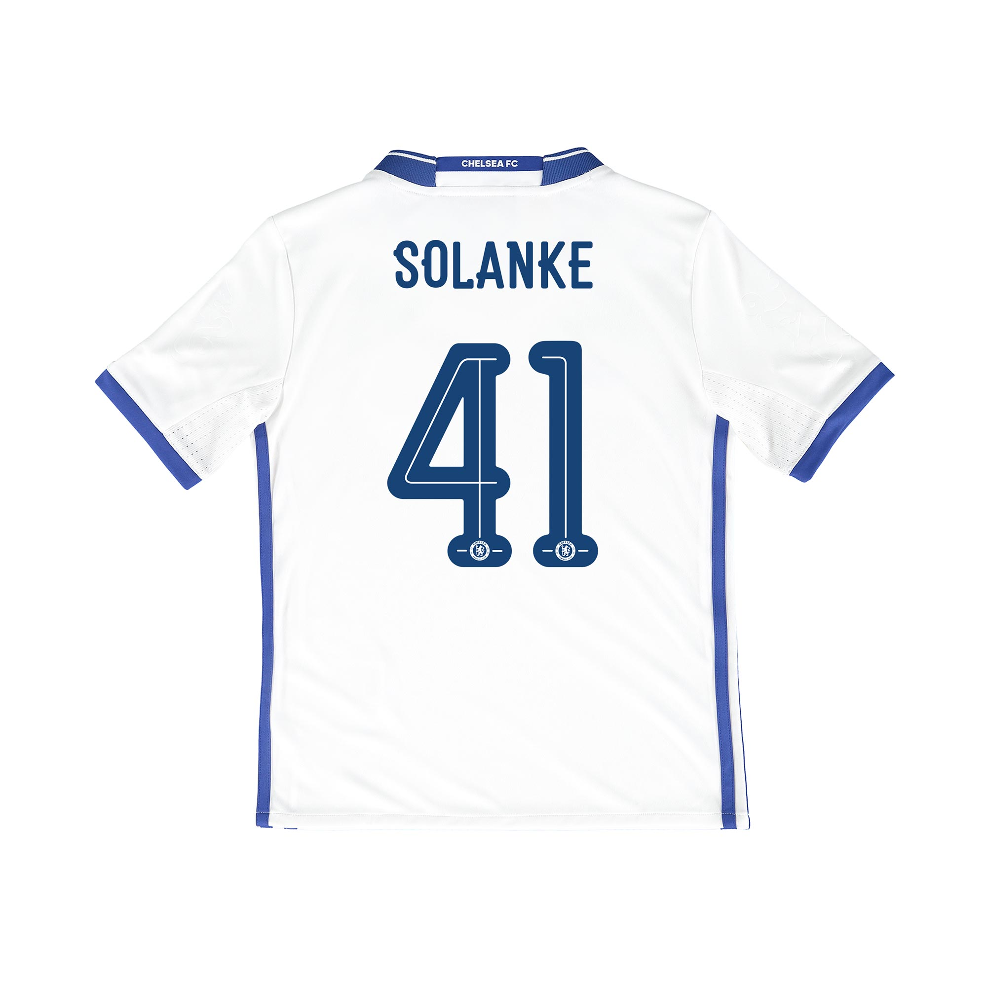 Chelsea Linear Third Shirt 16-17 - Kids with Solanke 41 printing