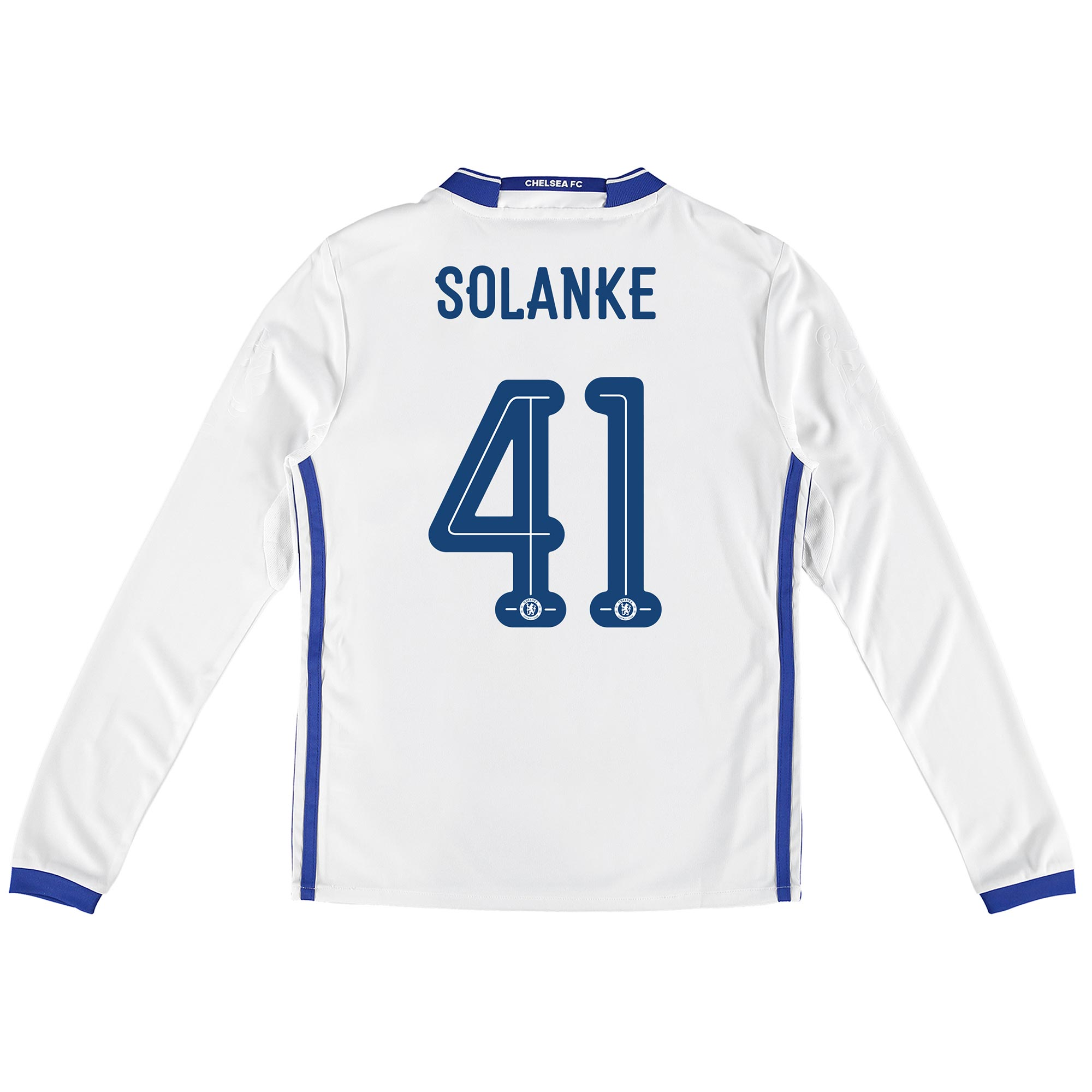 Chelsea Linear Third Shirt 16-17 - Kids - Long Sleeve with Solanke 41