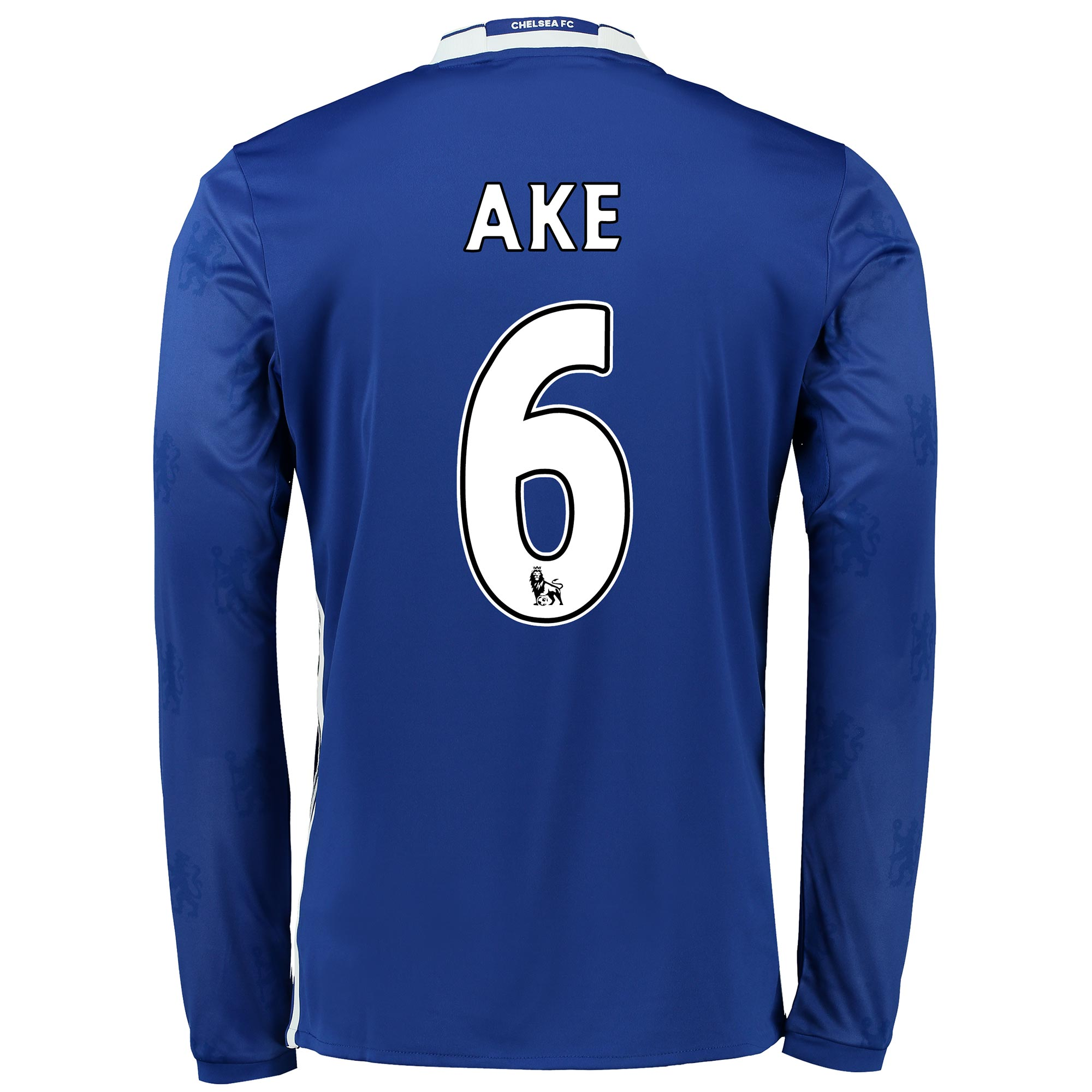 Chelsea Home Shirt 2016-17 - Long Sleeve with Ake 6 printing