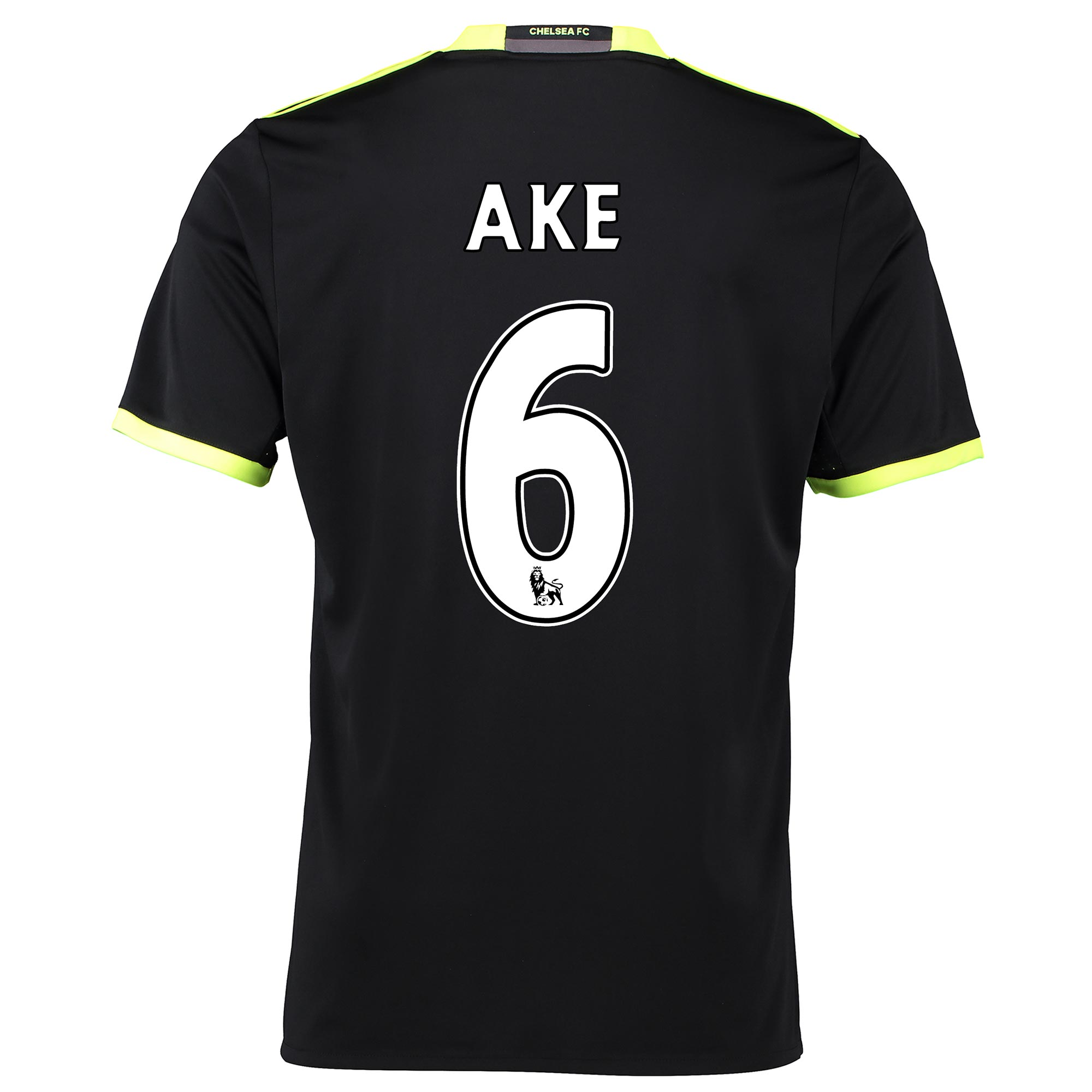 Chelsea Away Shirt 16-17 with Ake 6 printing