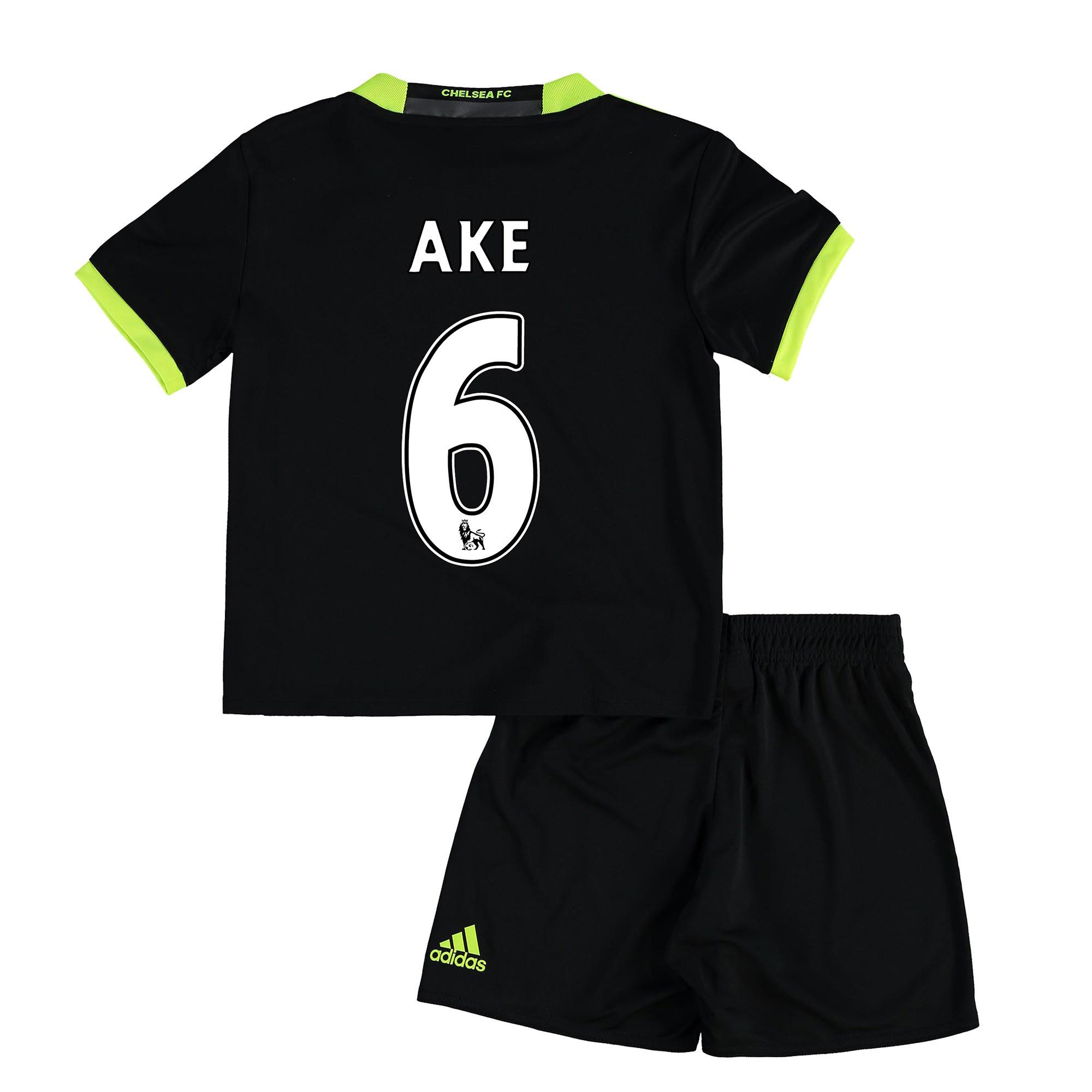 Chelsea Away Mini Kit 16-17 with Ake 6 printing