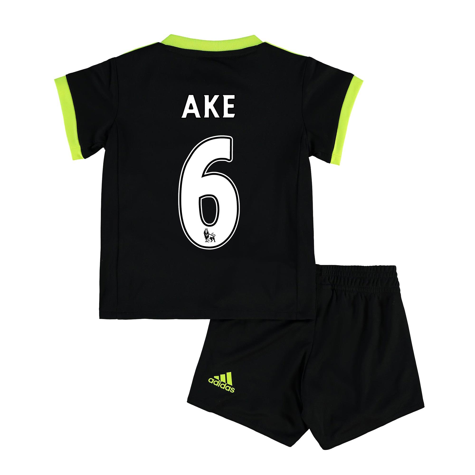 Chelsea Away Baby Kit 16-17 with Ake 6 printing