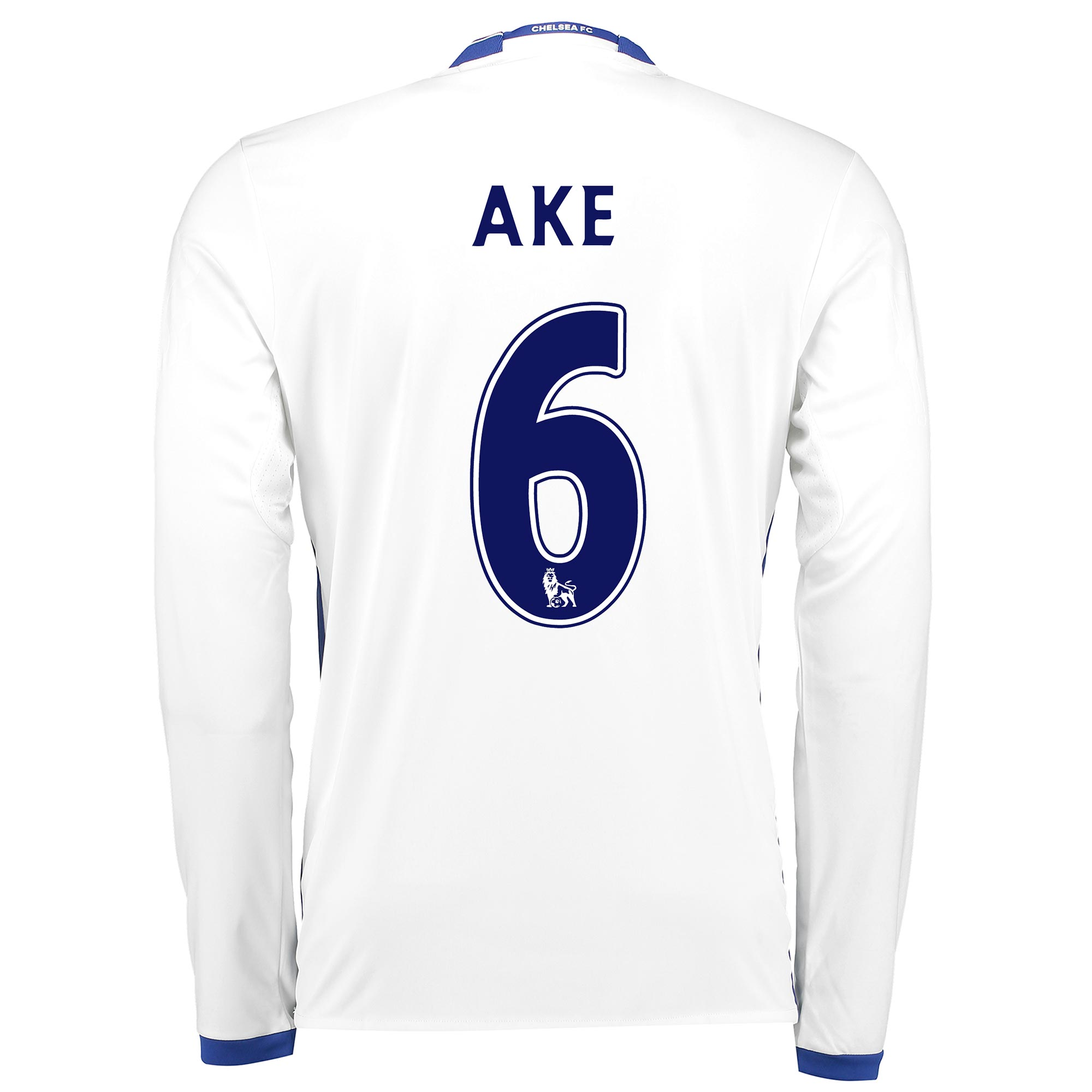 Chelsea Third Shirt 16-17 - Long Sleeve with Ake 6 printing