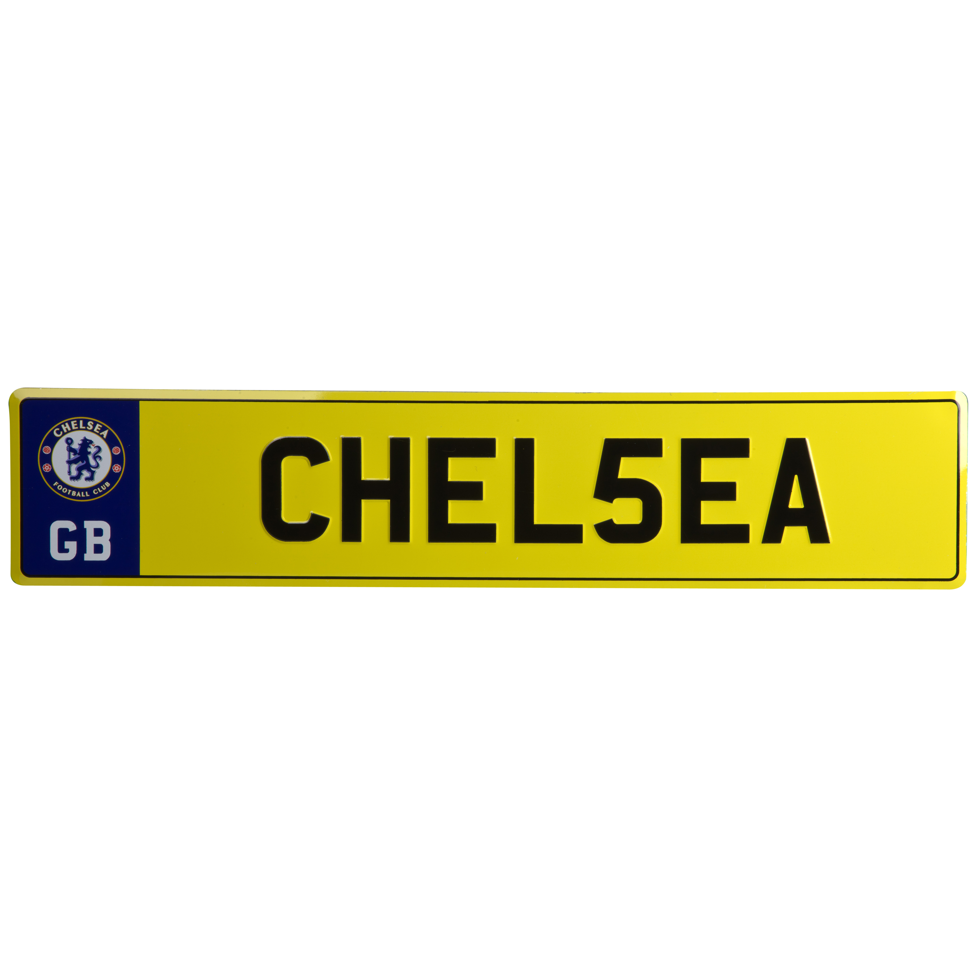 Chelsea Novelty License Plate