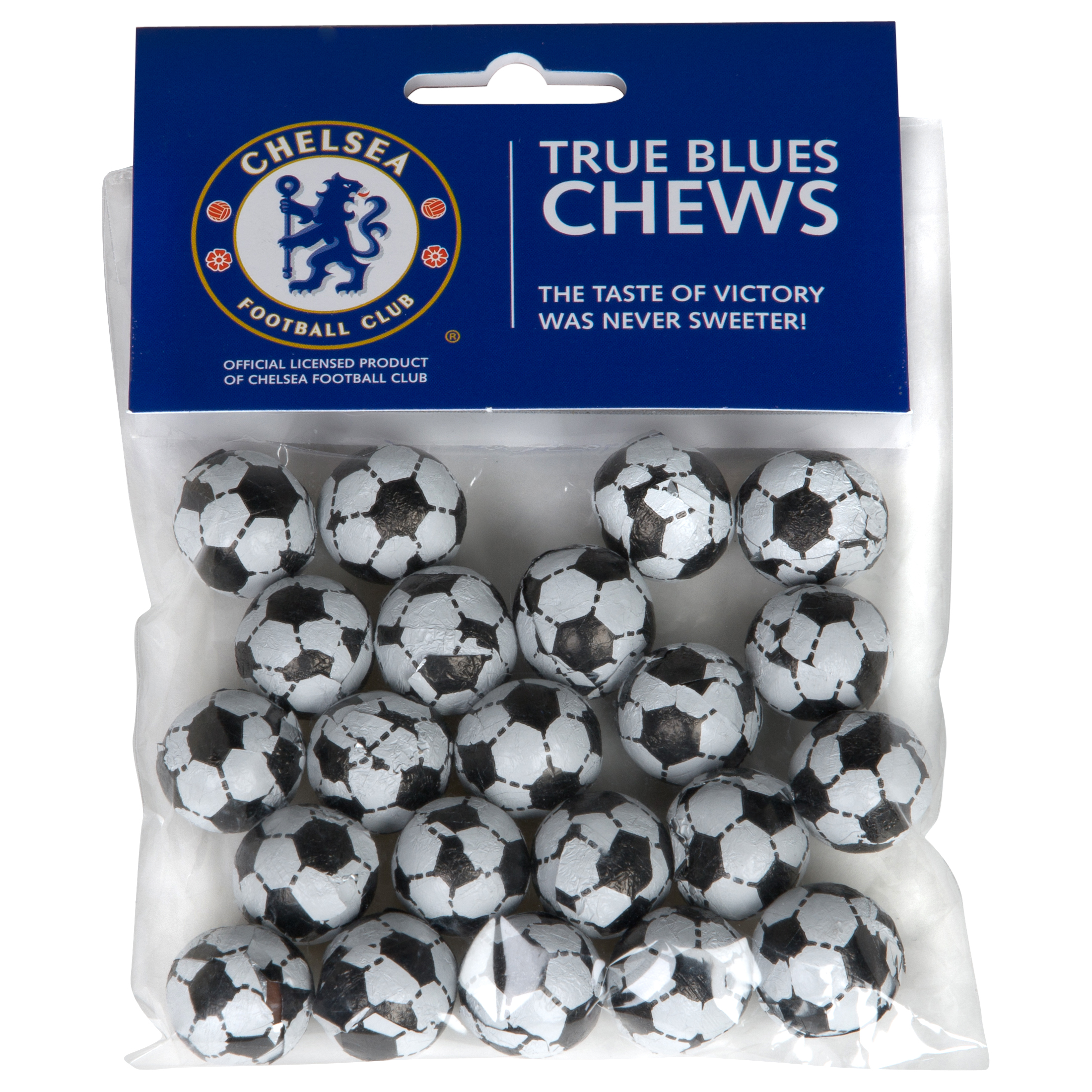 Chelsea 100g Bag of Chocolate Footballs