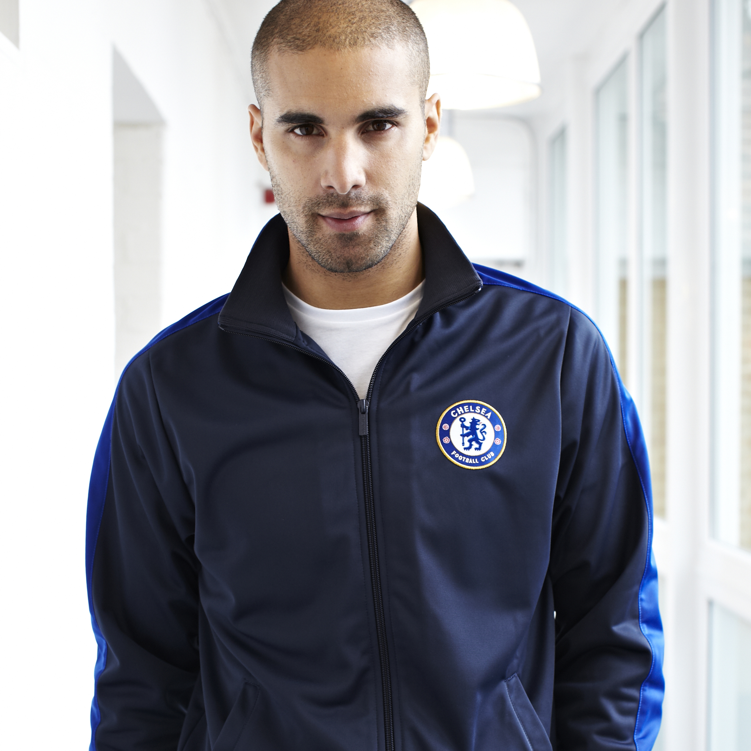 Chelsea Essentials Zip Thru Track Jacket - OT Navy - Mens