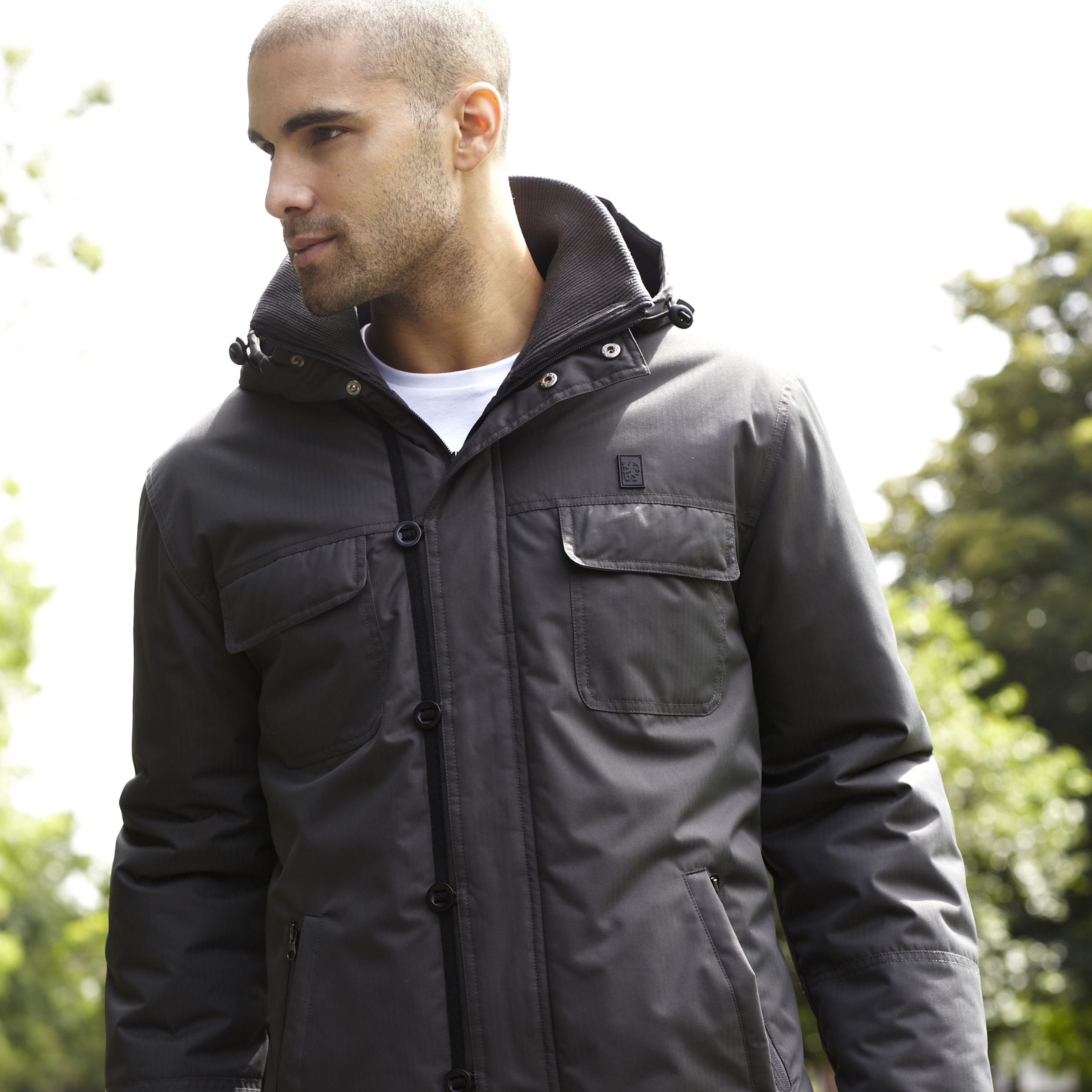 Chelsea Heritage Mini Ripstop Padded Jacket - Carbon - Mens