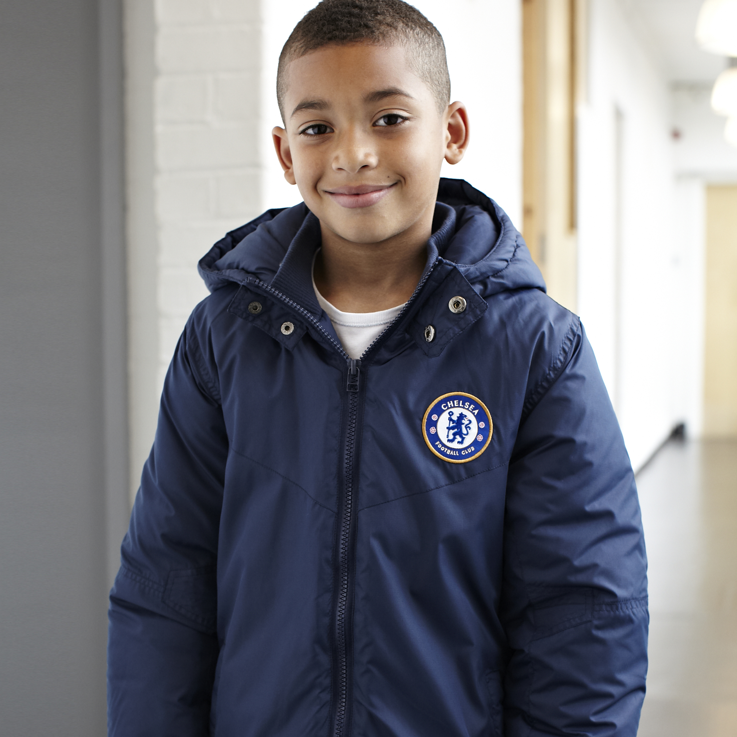 Chelsea Essentials Padded Jacket - OT Navy - Older Boys