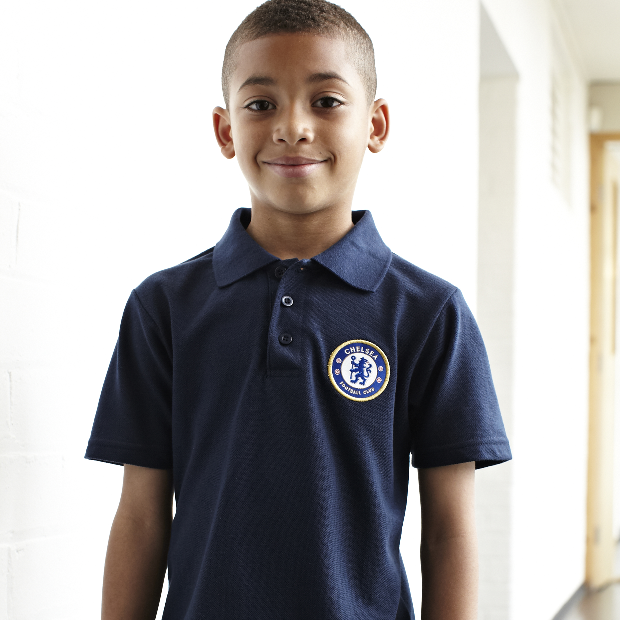 Chelsea Essentials Crest Polo - OT Navy - Older Boys