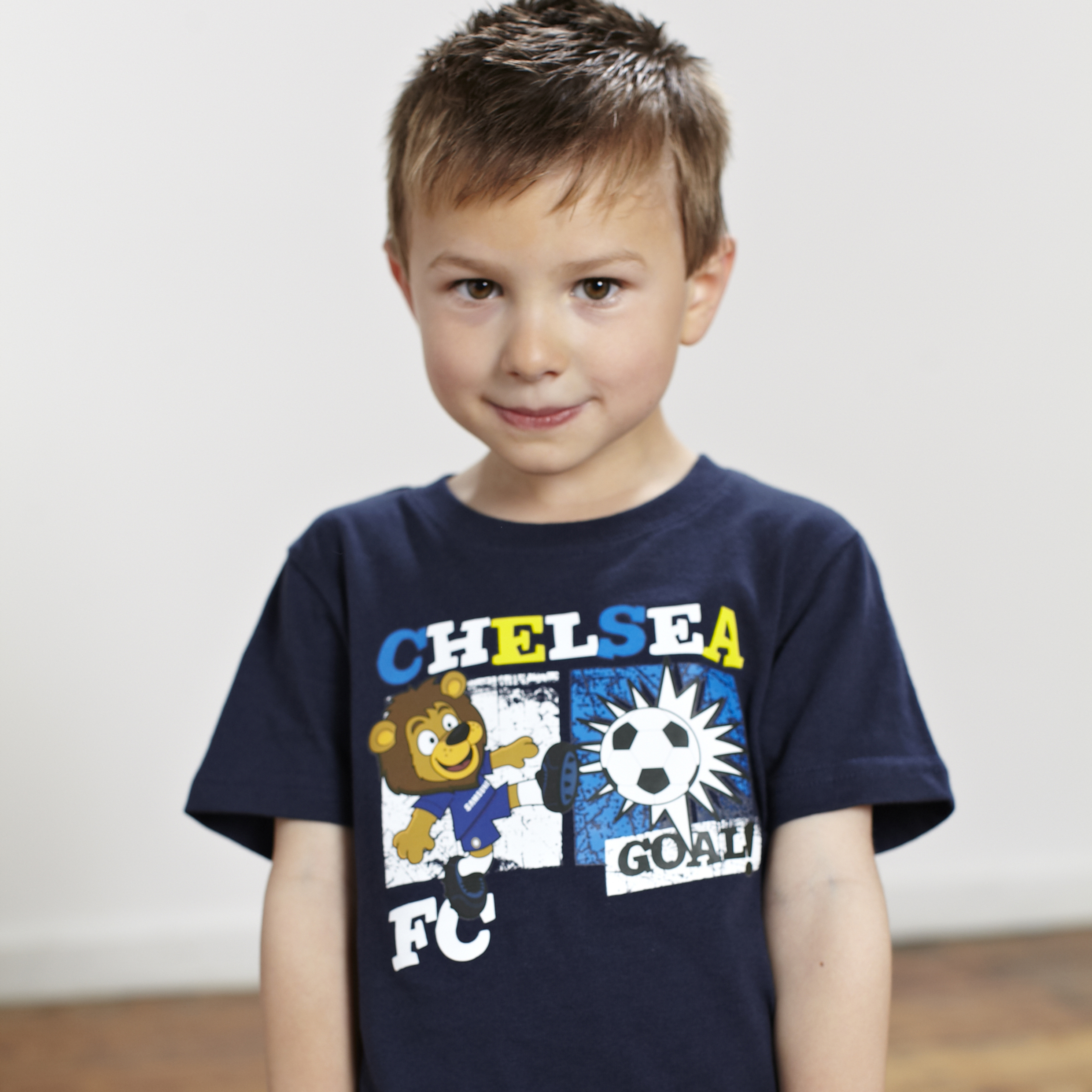 Chelsea Stamford Goal Graphic T-Shirt - OT Navy - Infant Boys