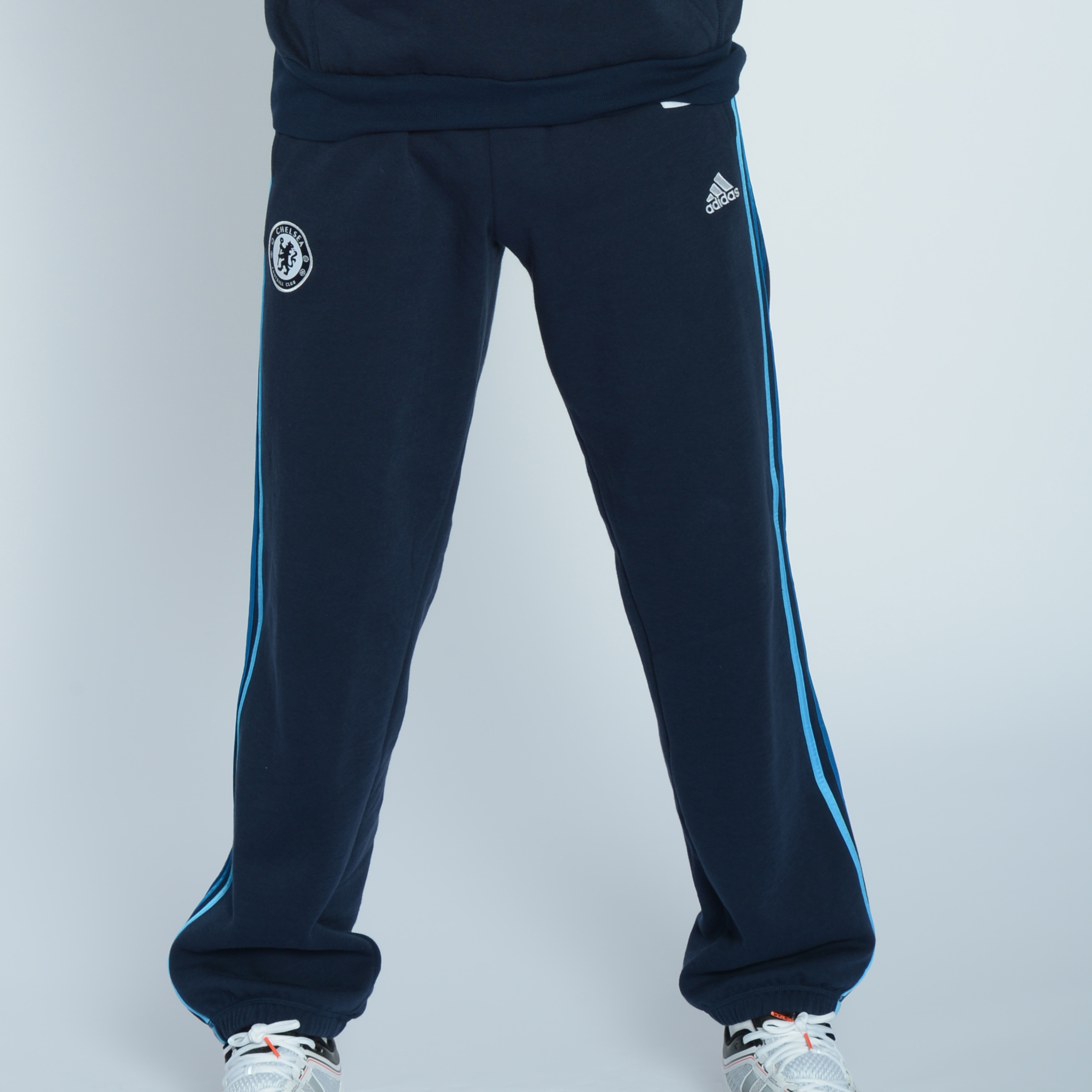 adidas Chelsea Core Track Pant - Collegiate Navy/Cyan