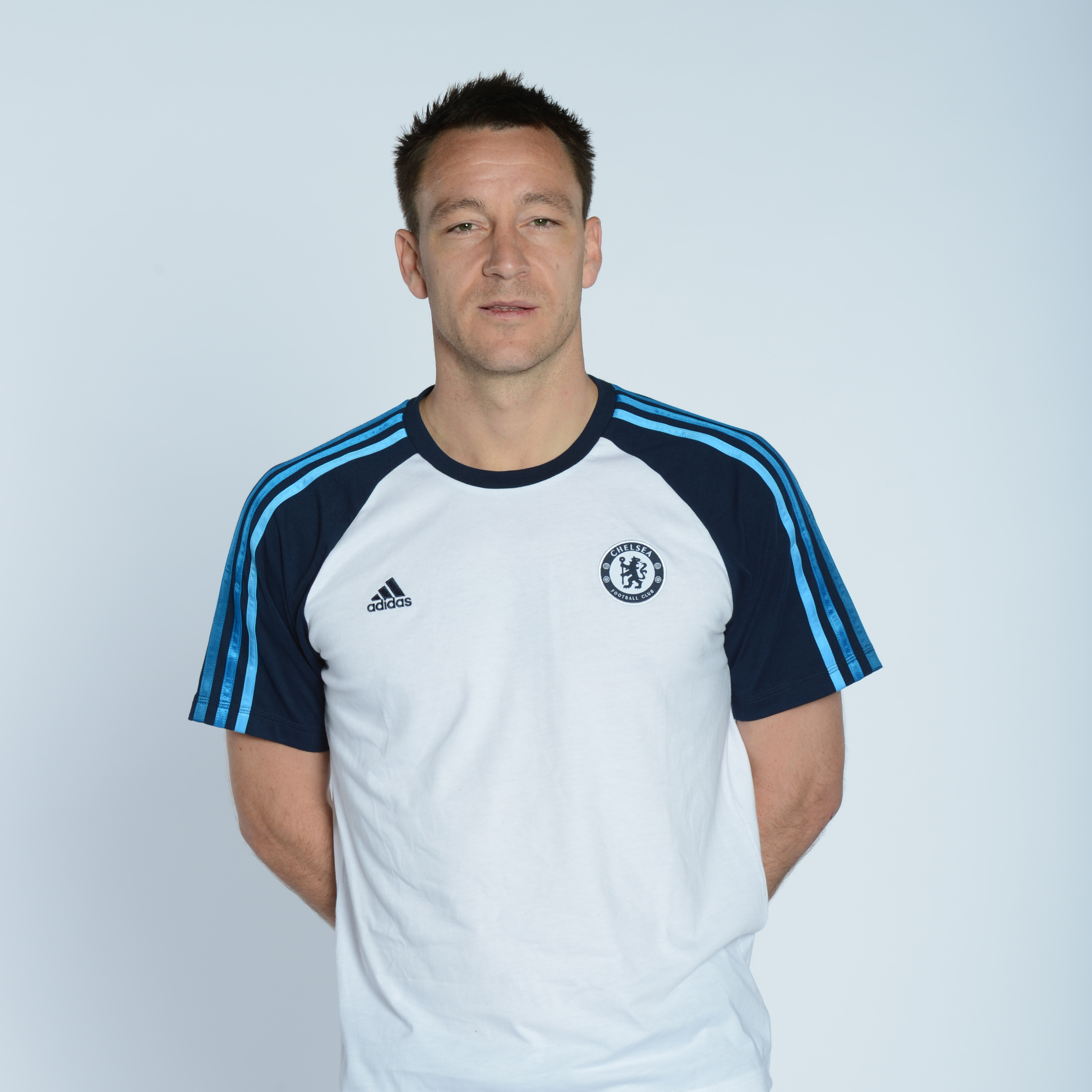 adidas Chelsea Core T-Shirt - Collegiate Navy/White/Cyan