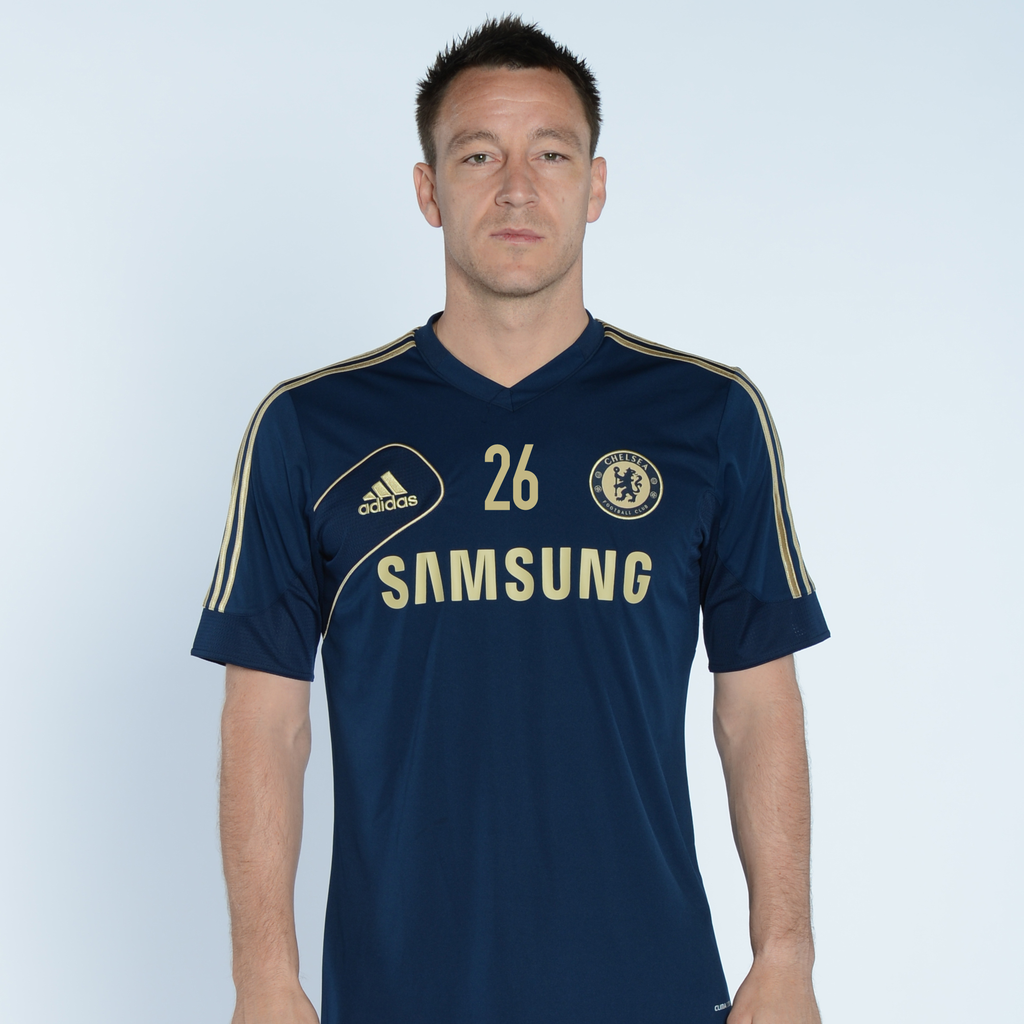 adidas Chelsea Training T-Shirt - Collegiate Navy/Light Football Gold