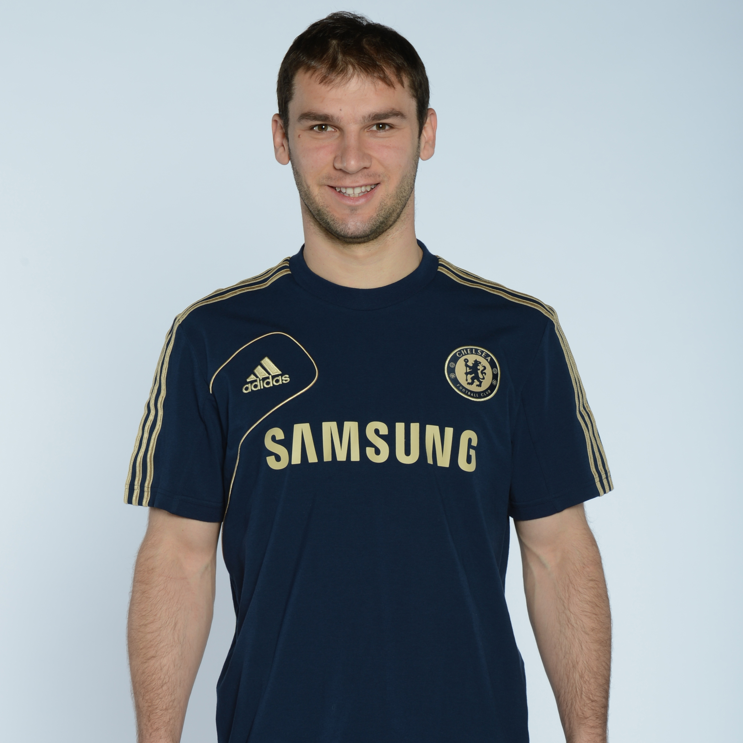 adidas Chelsea Training Jersey - Collegiate Navy/Light Football Gold