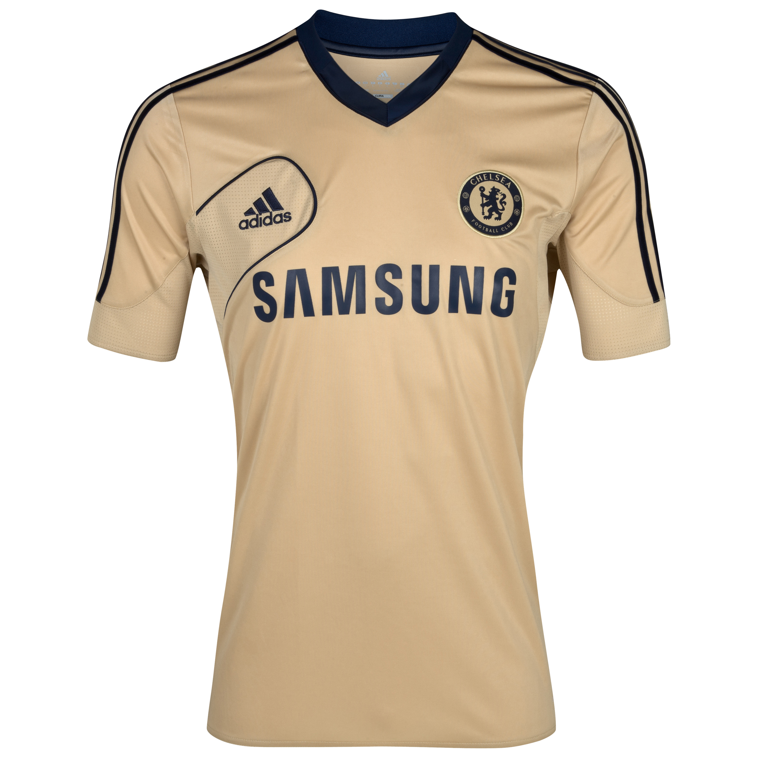 adidas Chelsea Training Jersey - Light Football Gold/Collegiate Navy