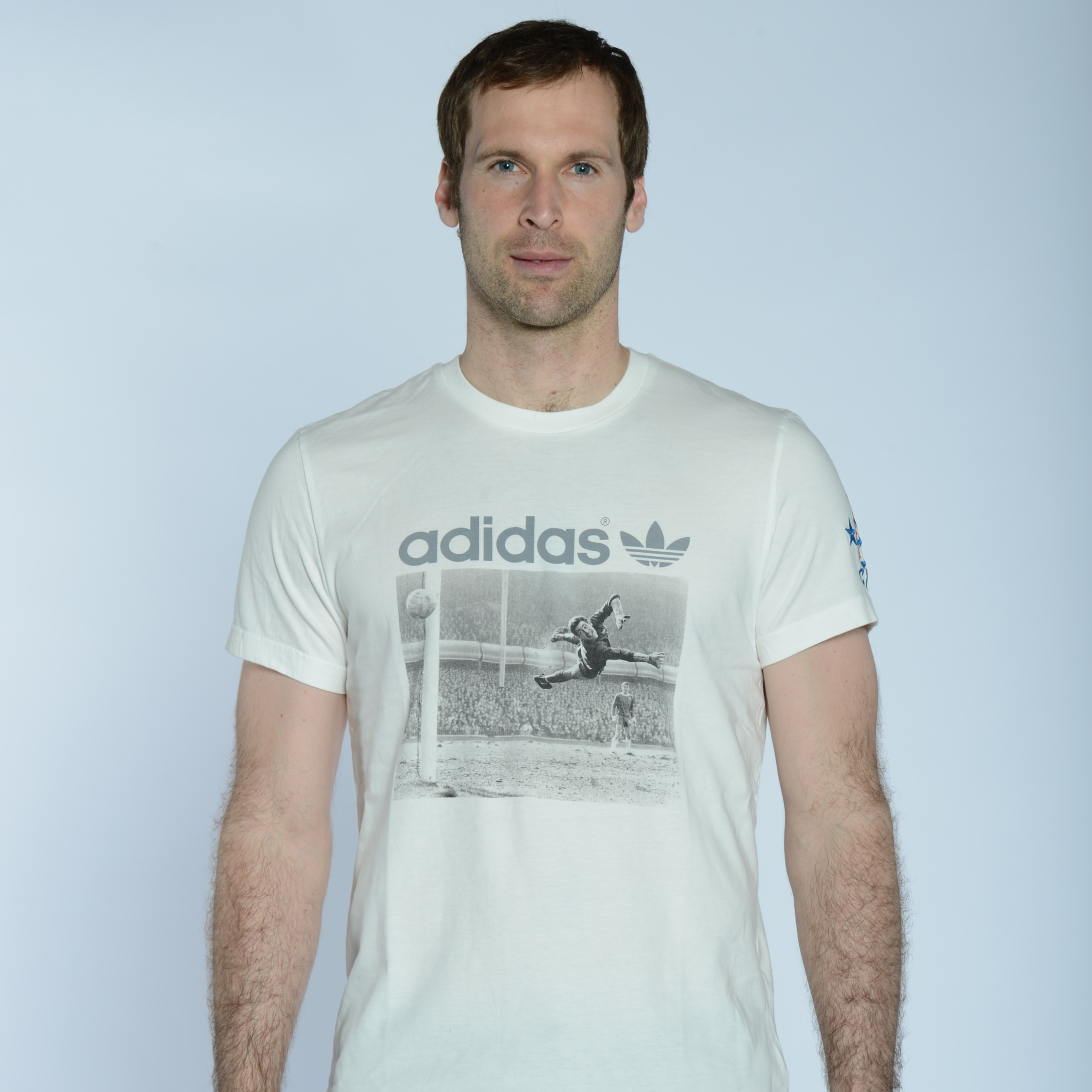 adidas Originals Chelsea Graphic T-Shirt - White Vapour