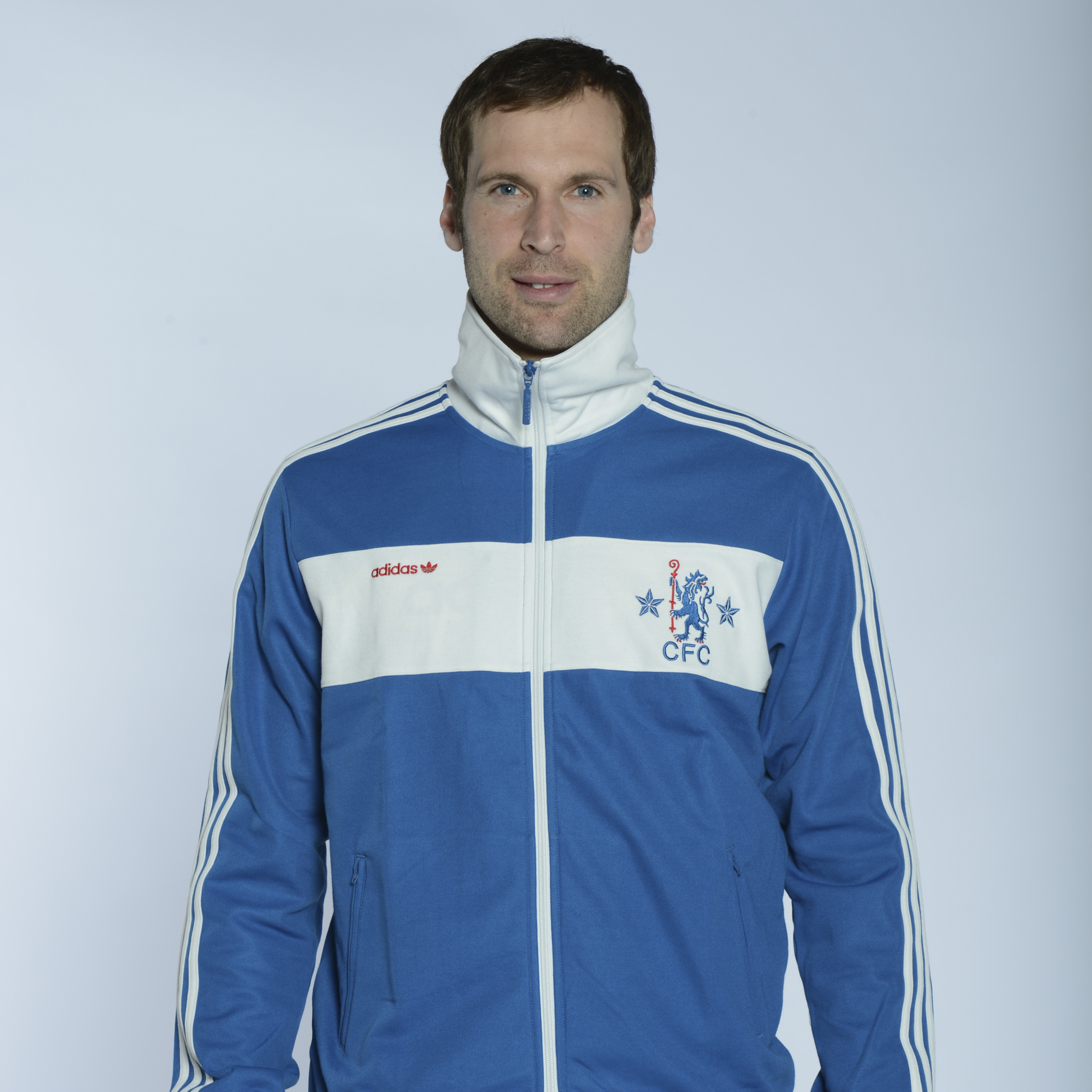 adidas Originals Chelsea Beckenbauer Track Top - Dark Royal/White Vapour