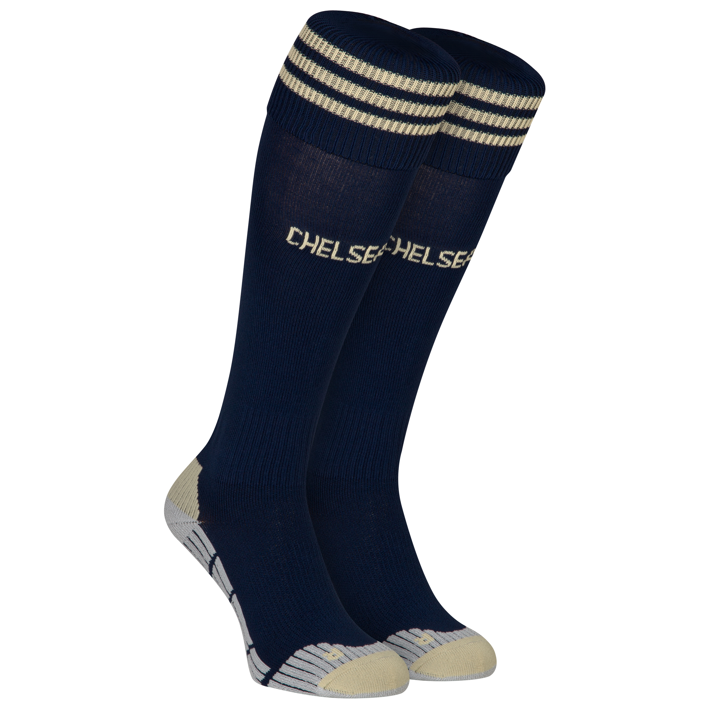 Chelsea Training Sock - Collegiate Navy/Light Football Gold