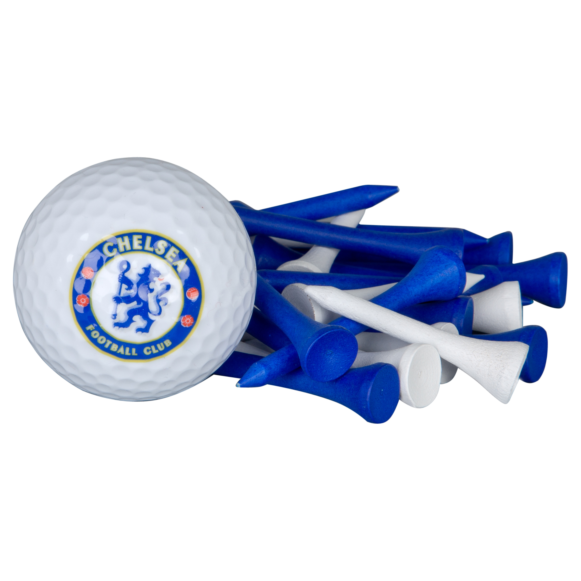 Chelsea Golf Gift Ball and Tee Set