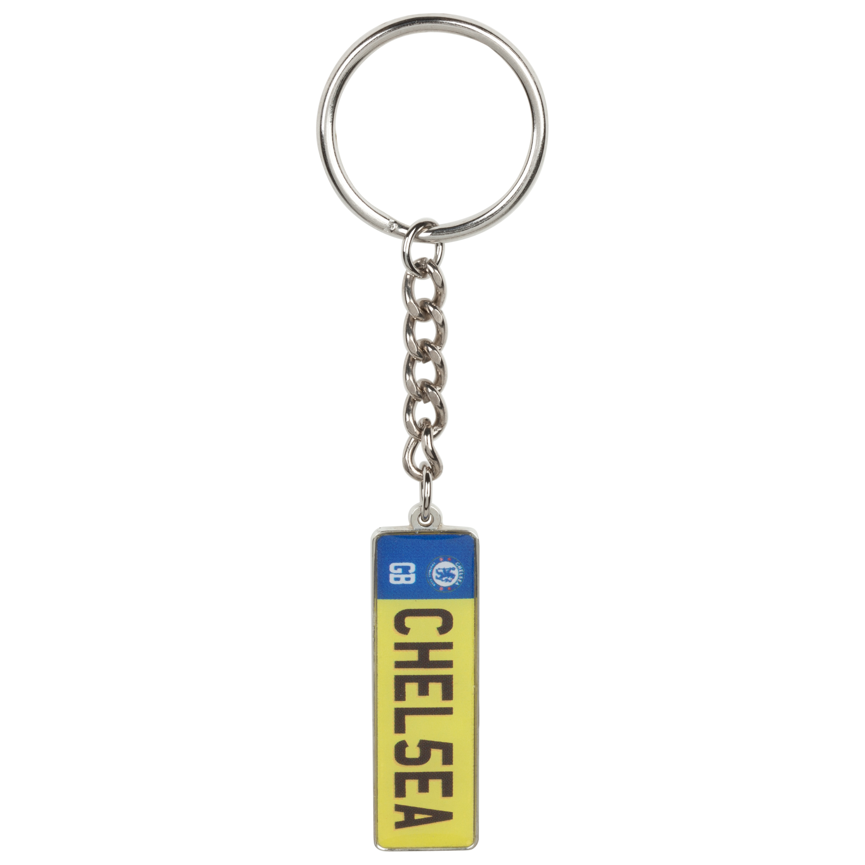 Chelsea License Plate Keyring