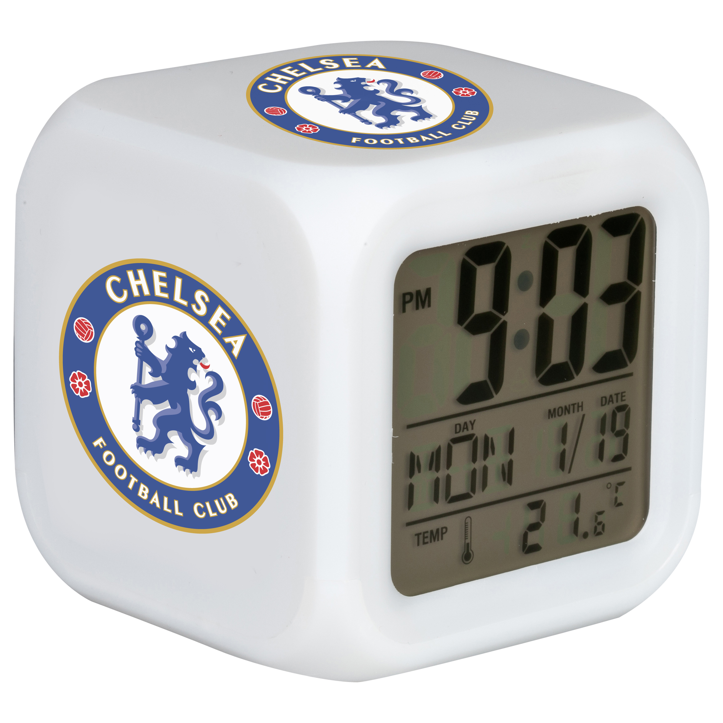 Chelsea Digital Cube Clock