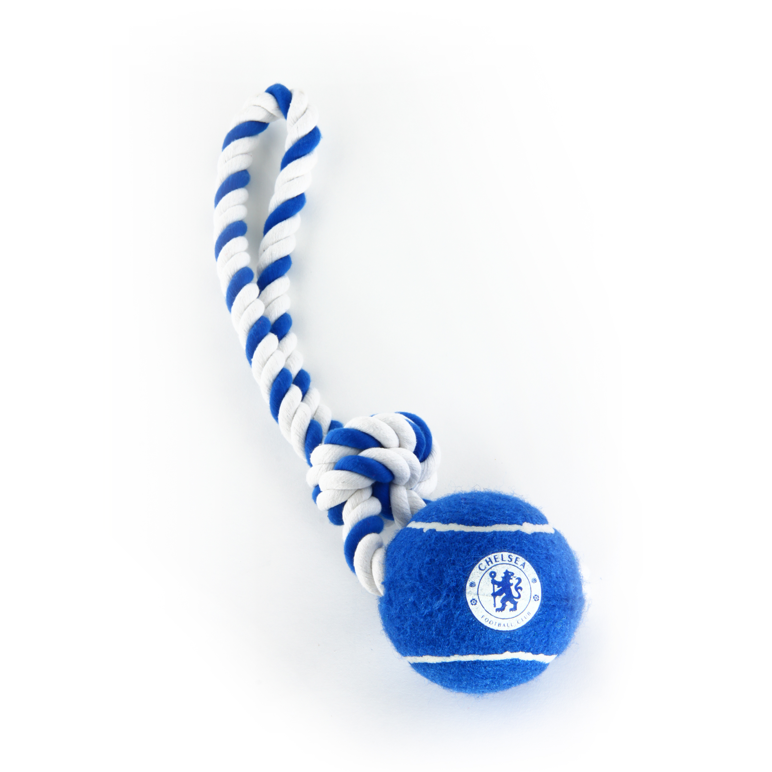 Chelsea Rope and Ball Tugger Dog Toy