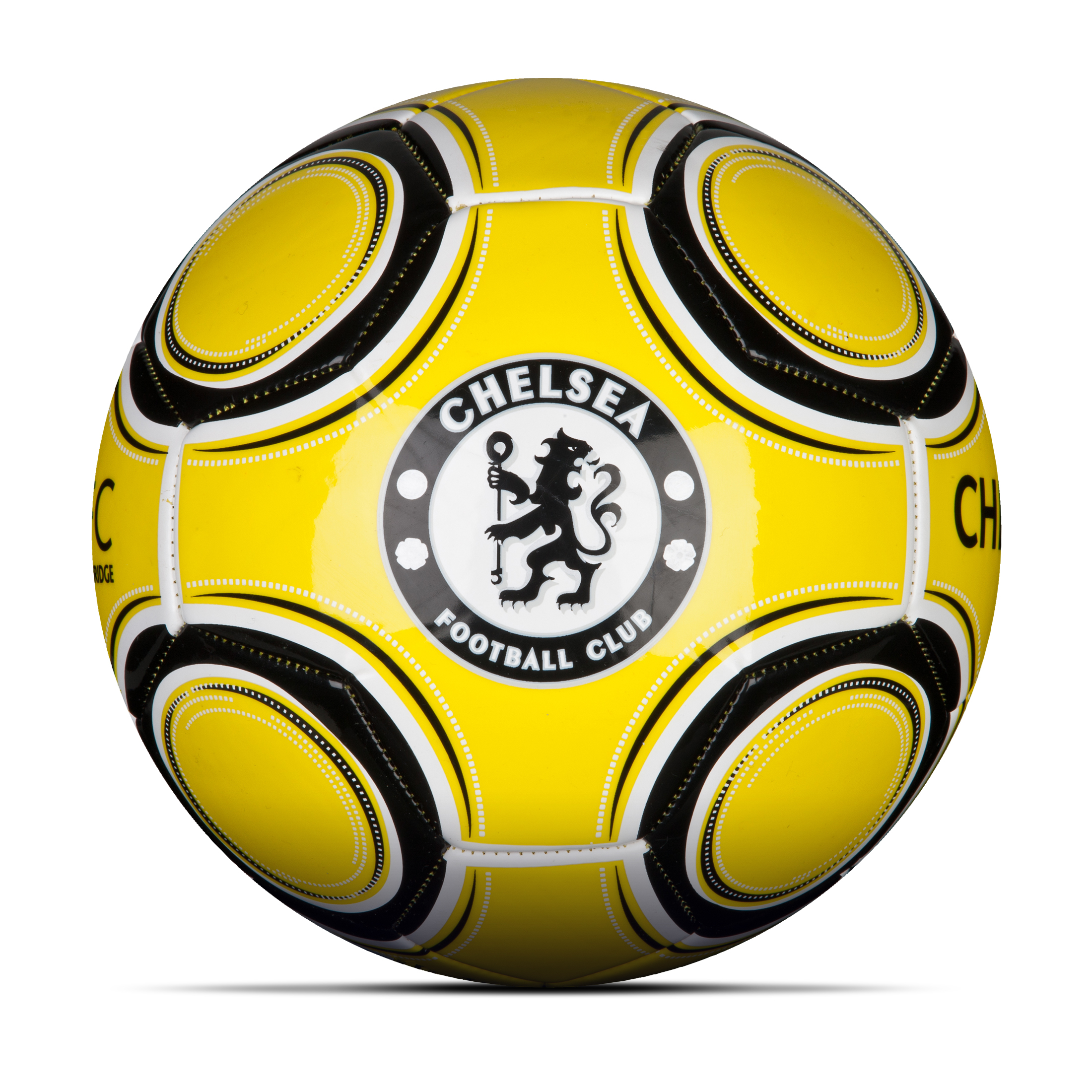 Chelsea Sphere Football - Size 5 - Fluorescent  Yellow