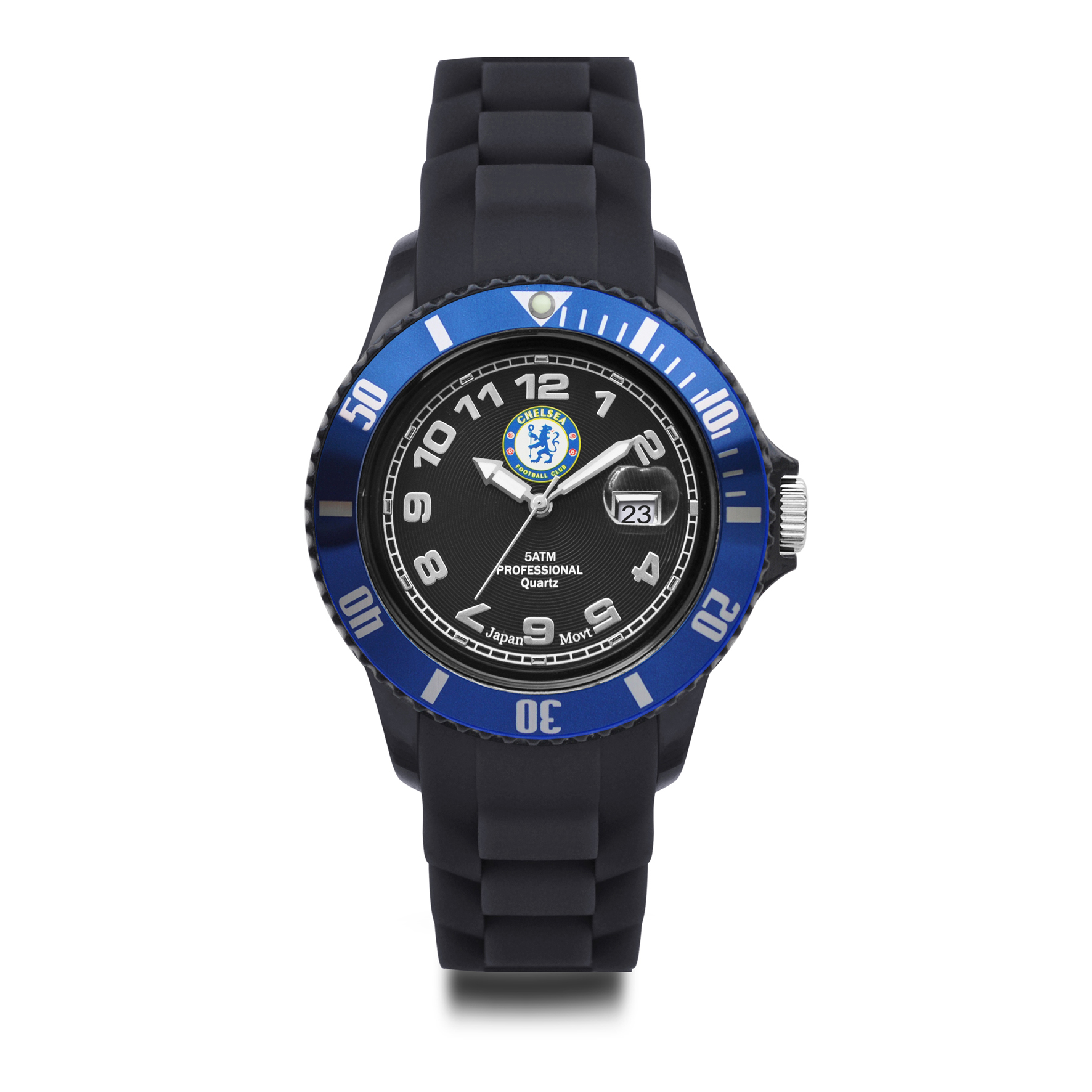 Chelsea Analogue Silicon Strap Watch with Date