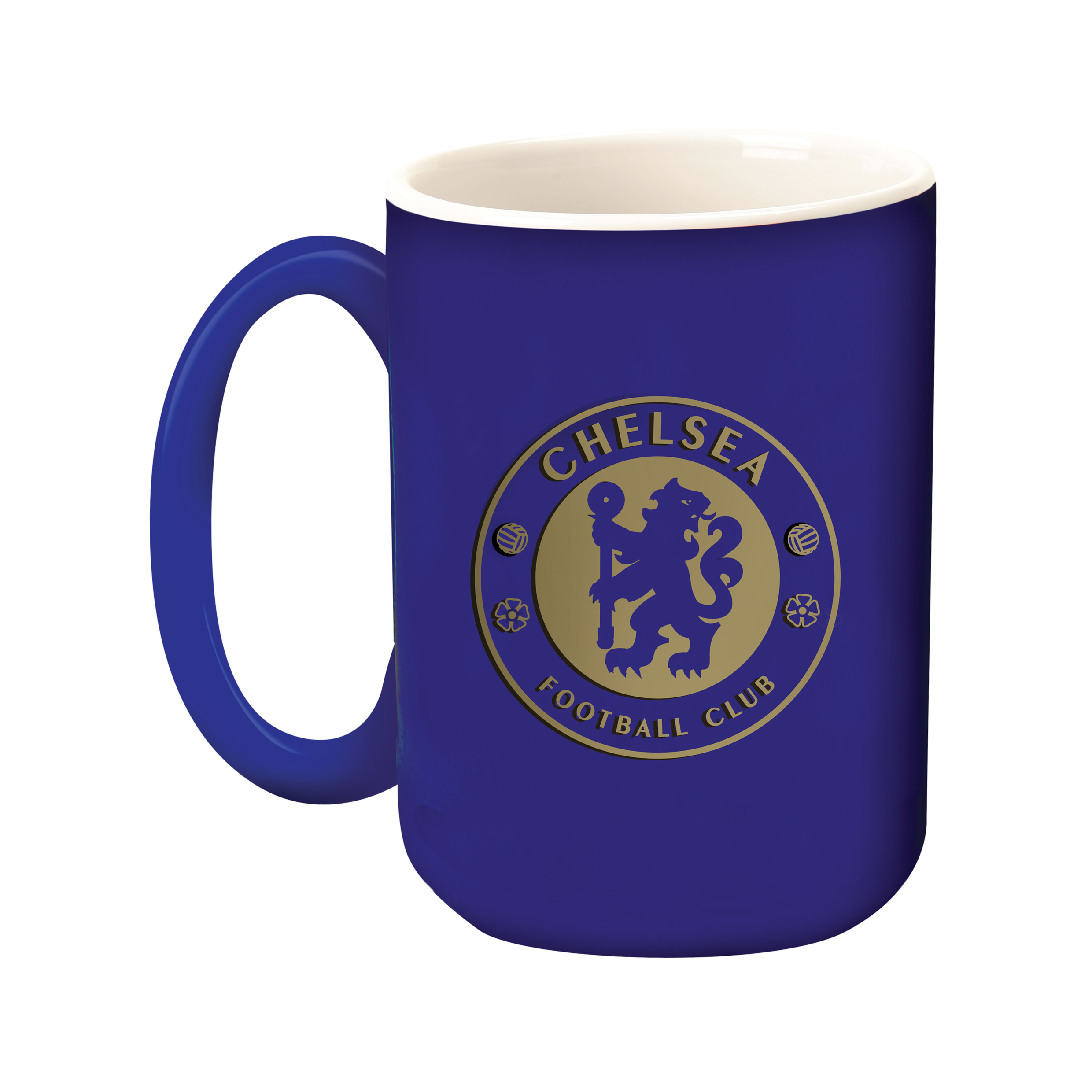 Chelsea Gold Crest Sculptured Mug