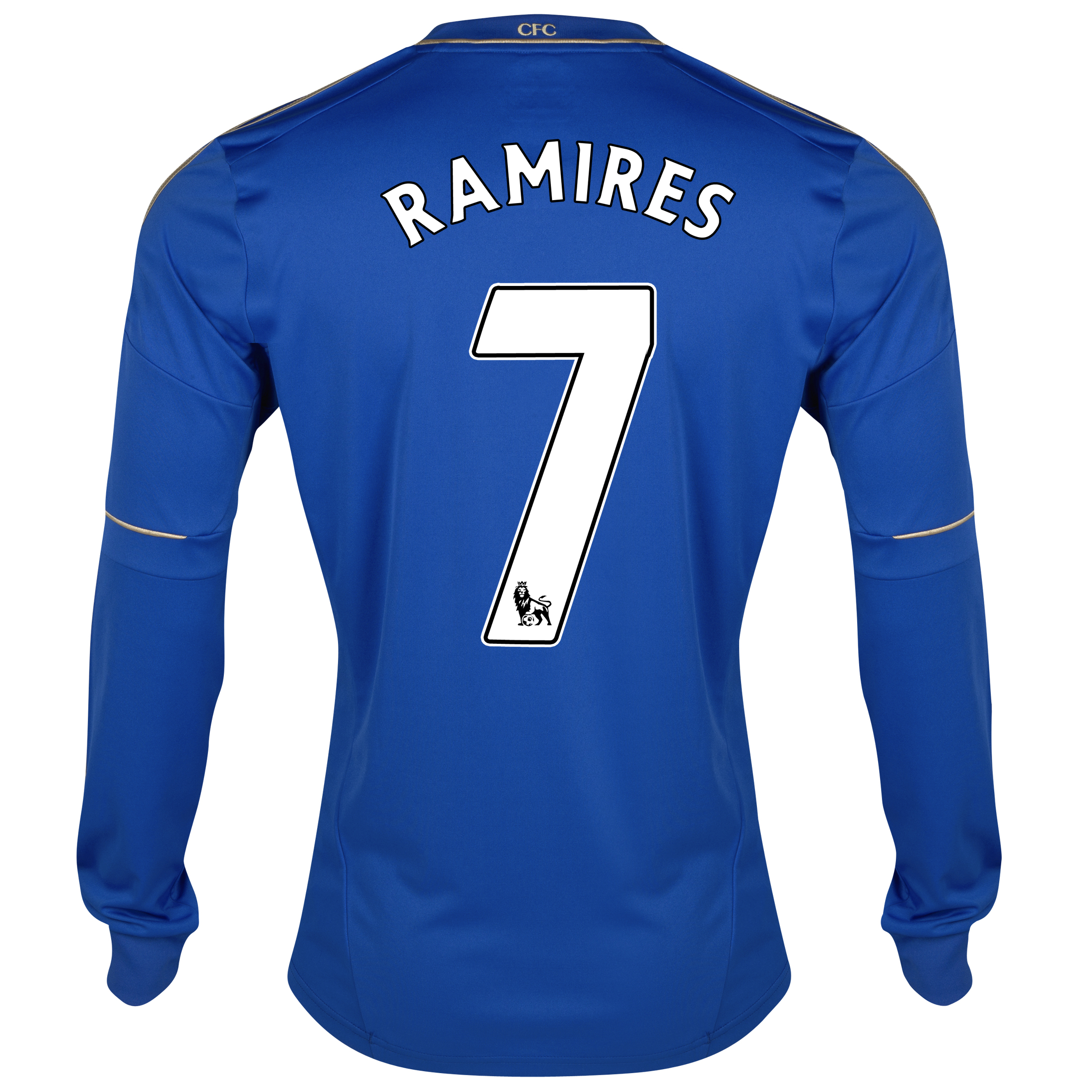 Chelsea Home Shirt 2012/13 - Long Sleeved with Ramires 7 printing