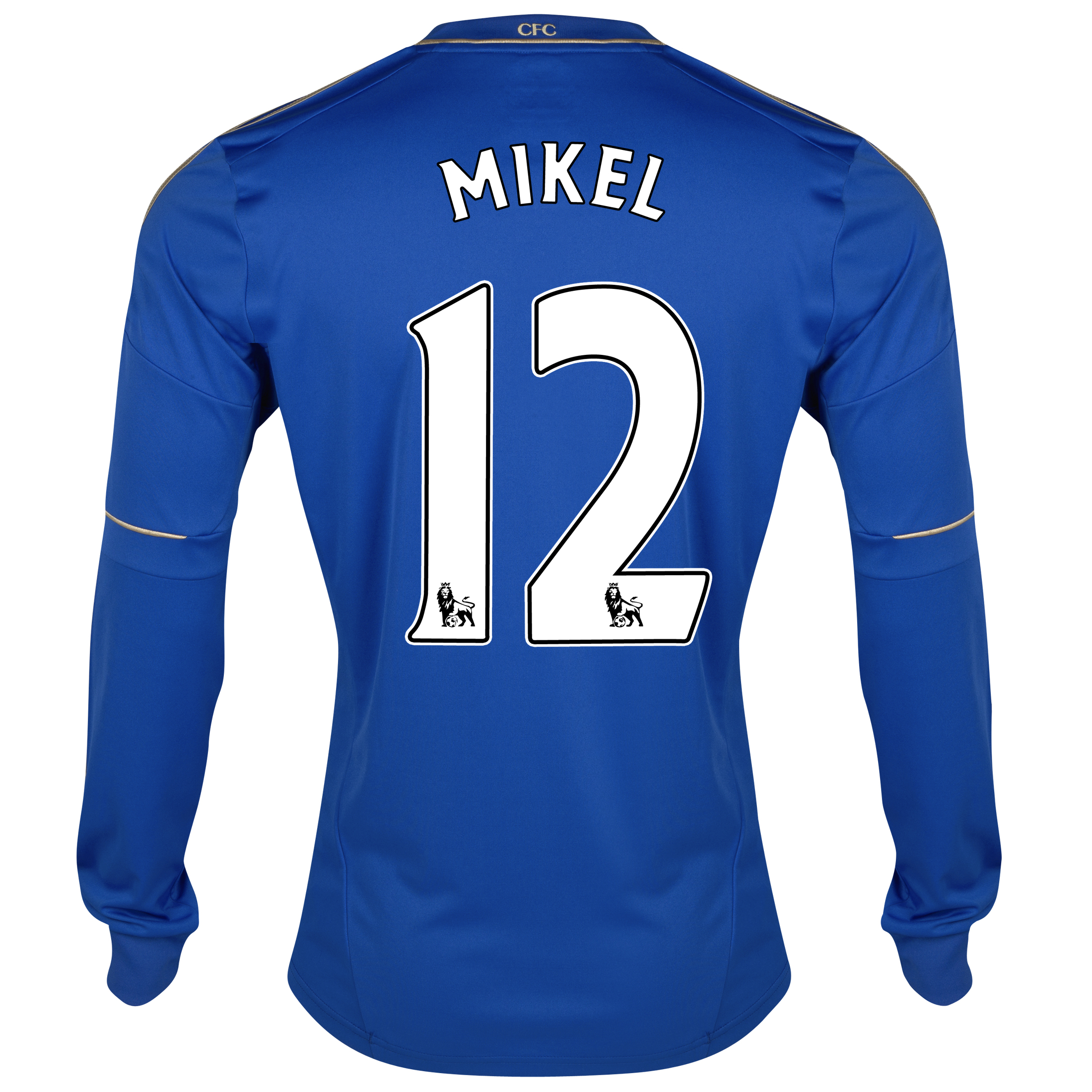 Chelsea Home Shirt 2012/13 - Long Sleeved with Mikel 12 printing