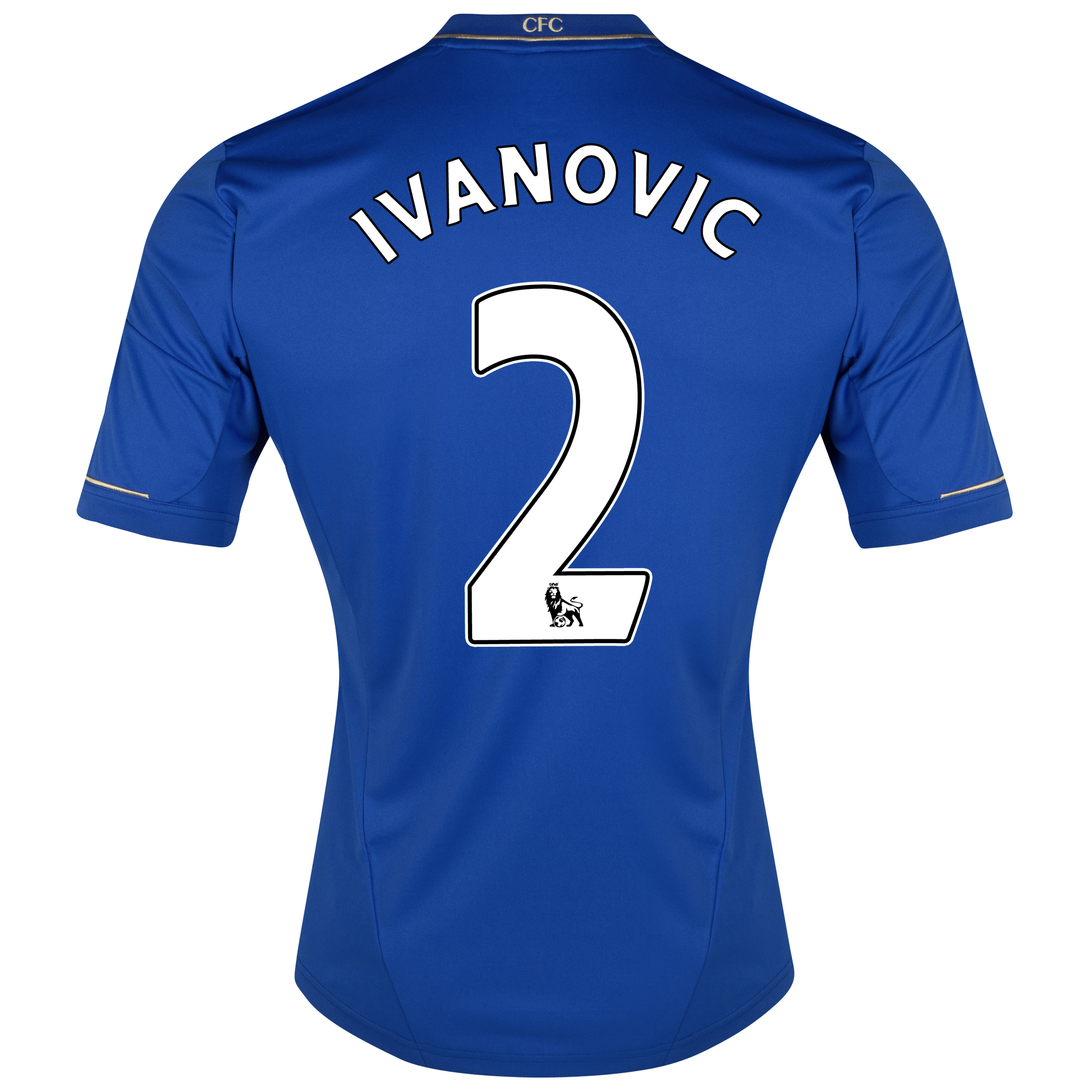Chelsea Home Shirt 2012/13 - Kids with Ivanovic 2 printing