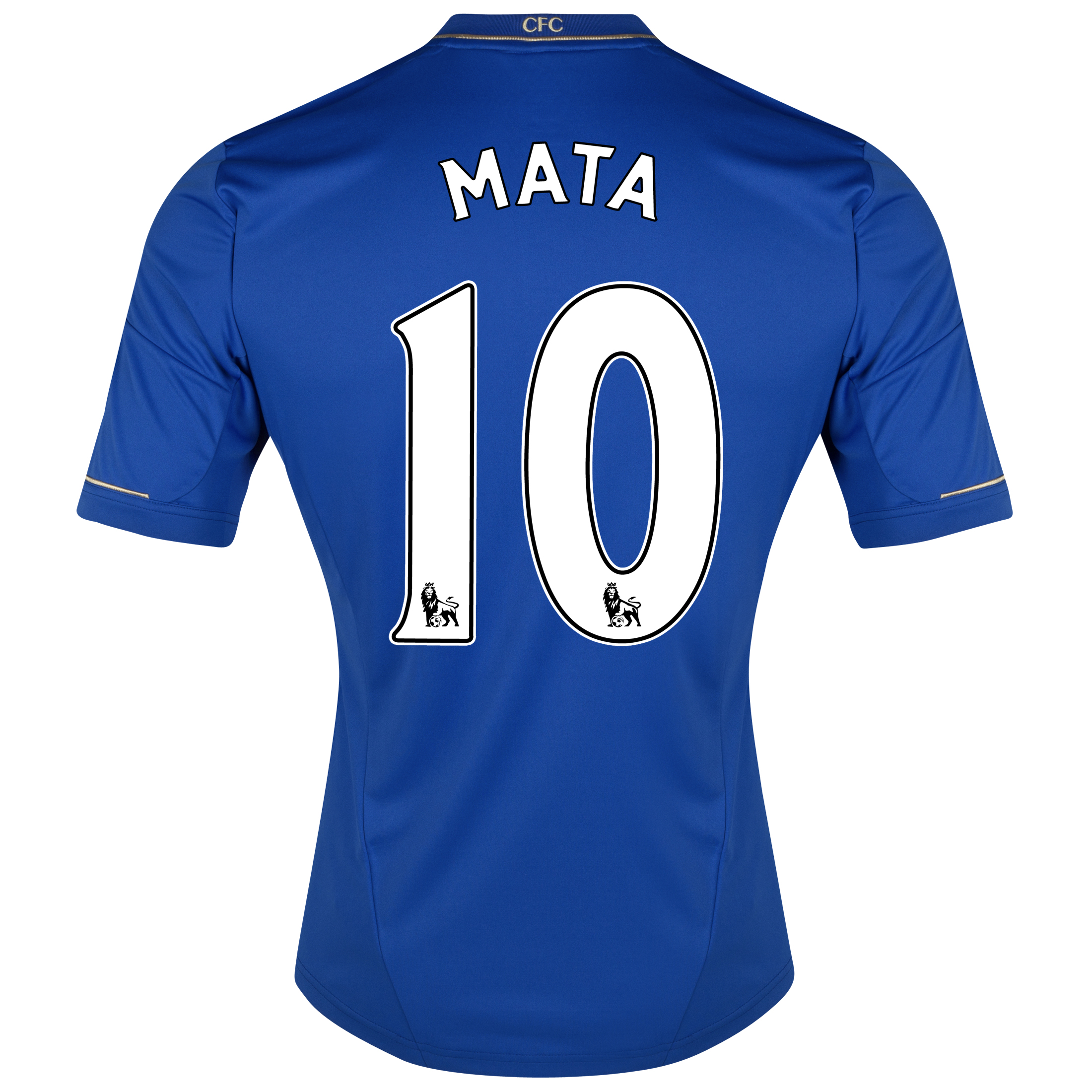 Chelsea Home Shirt 2012/13 - Kids with Mata 10 printing