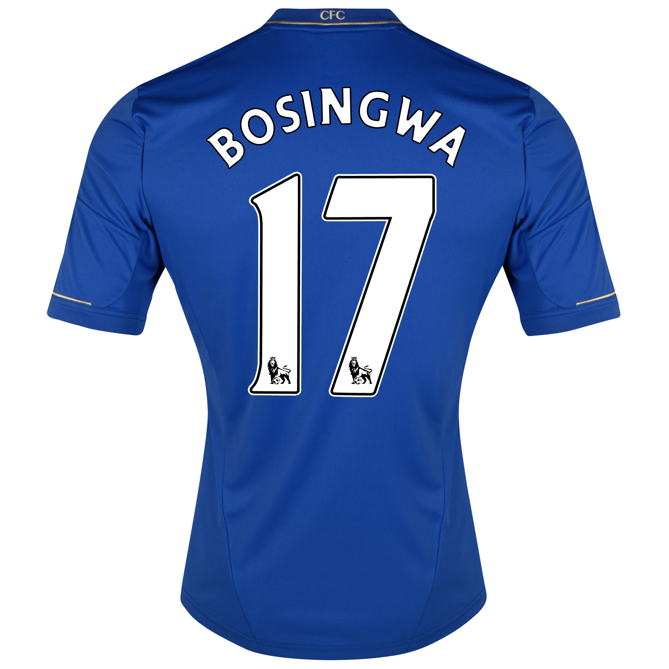 Chelsea Home Shirt 2012/13 - Youths with Bosingwa 17 printing