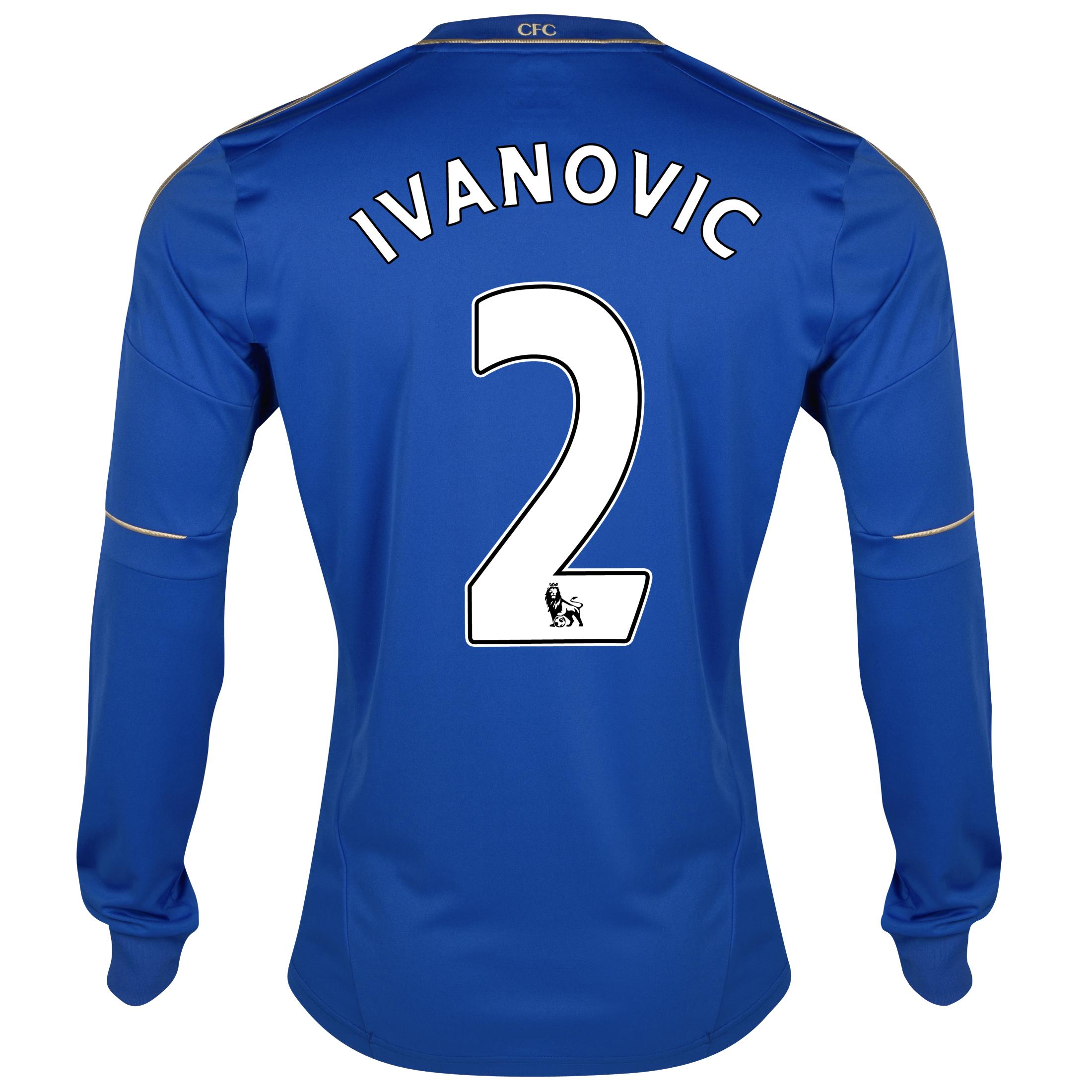 Chelsea Home Shirt 2012/13 - Long Sleeved - Youths with Ivanovic 2 printing