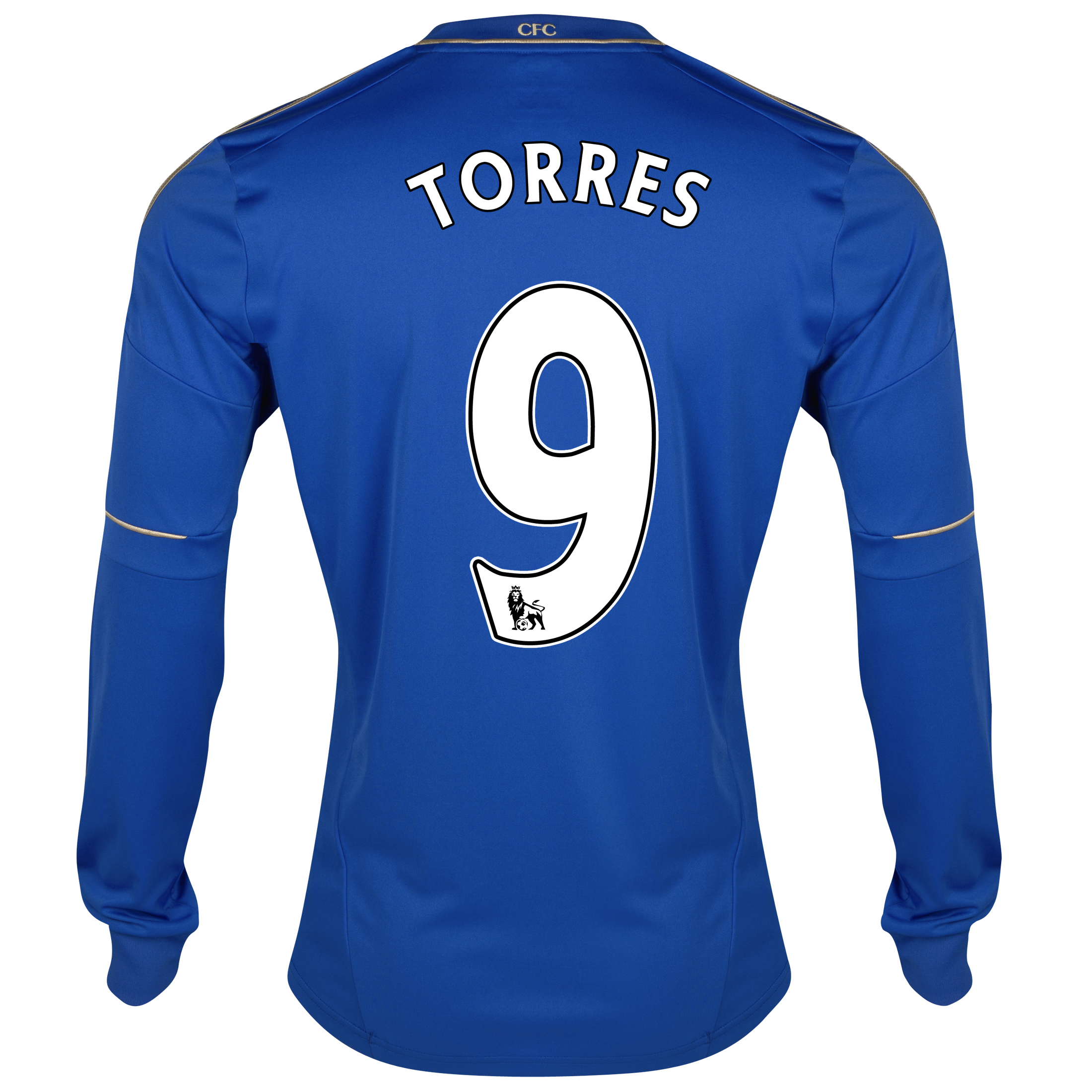 Chelsea Home Shirt 2012/13 - Long Sleeved - Youths with Torres 9 printing