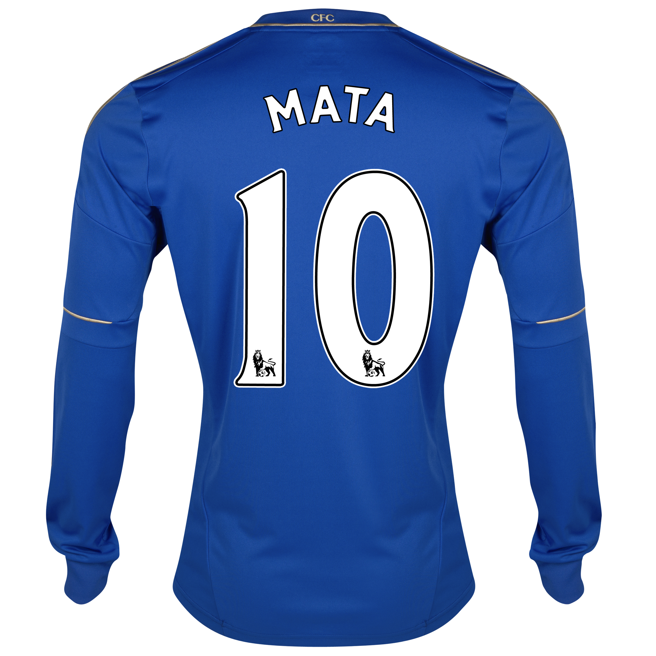 Chelsea Home Shirt 2012/13 - Long Sleeved - Youths with Mata 10 printing