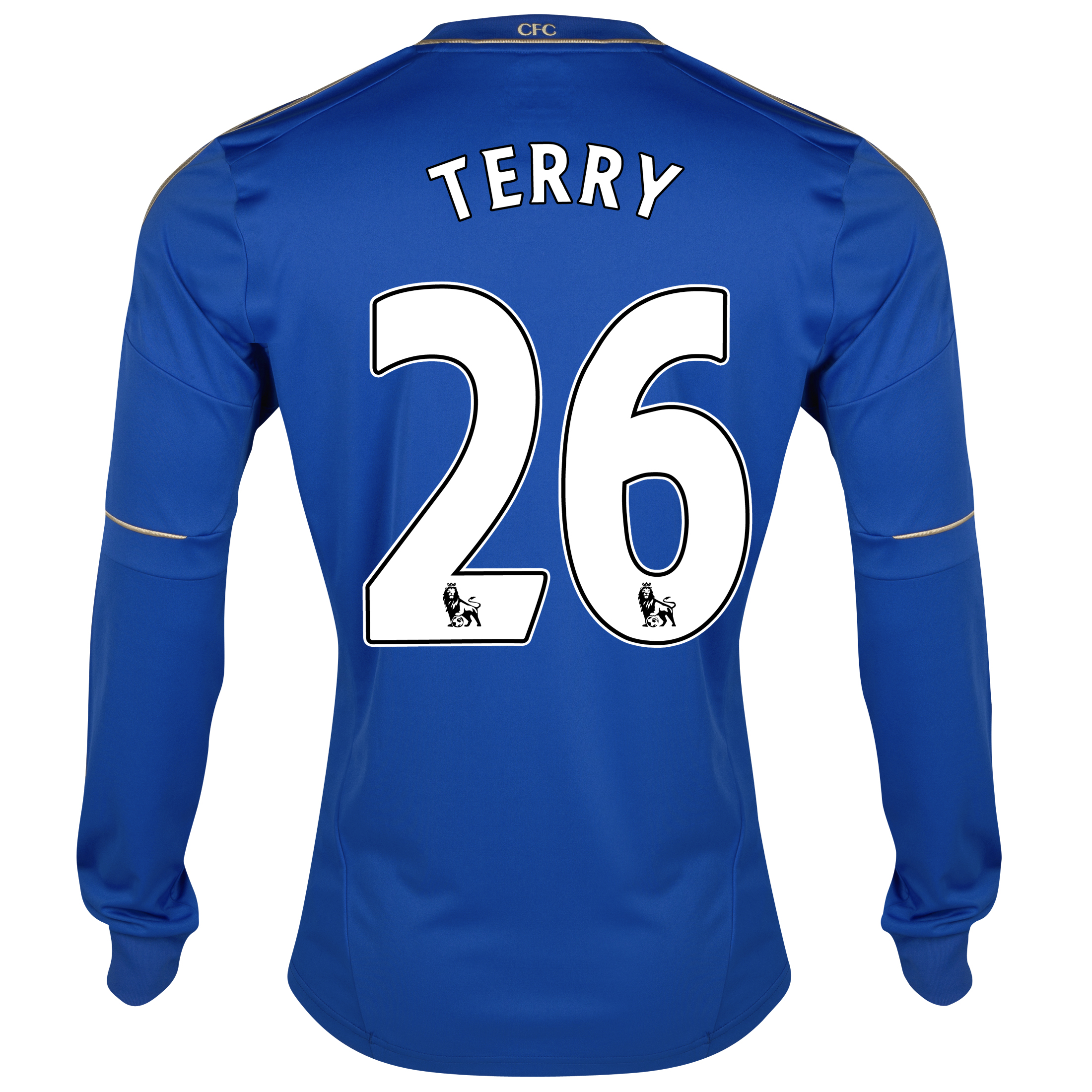 Chelsea Home Shirt 2012/13 - Long Sleeved - Youths with Terry 26 printing