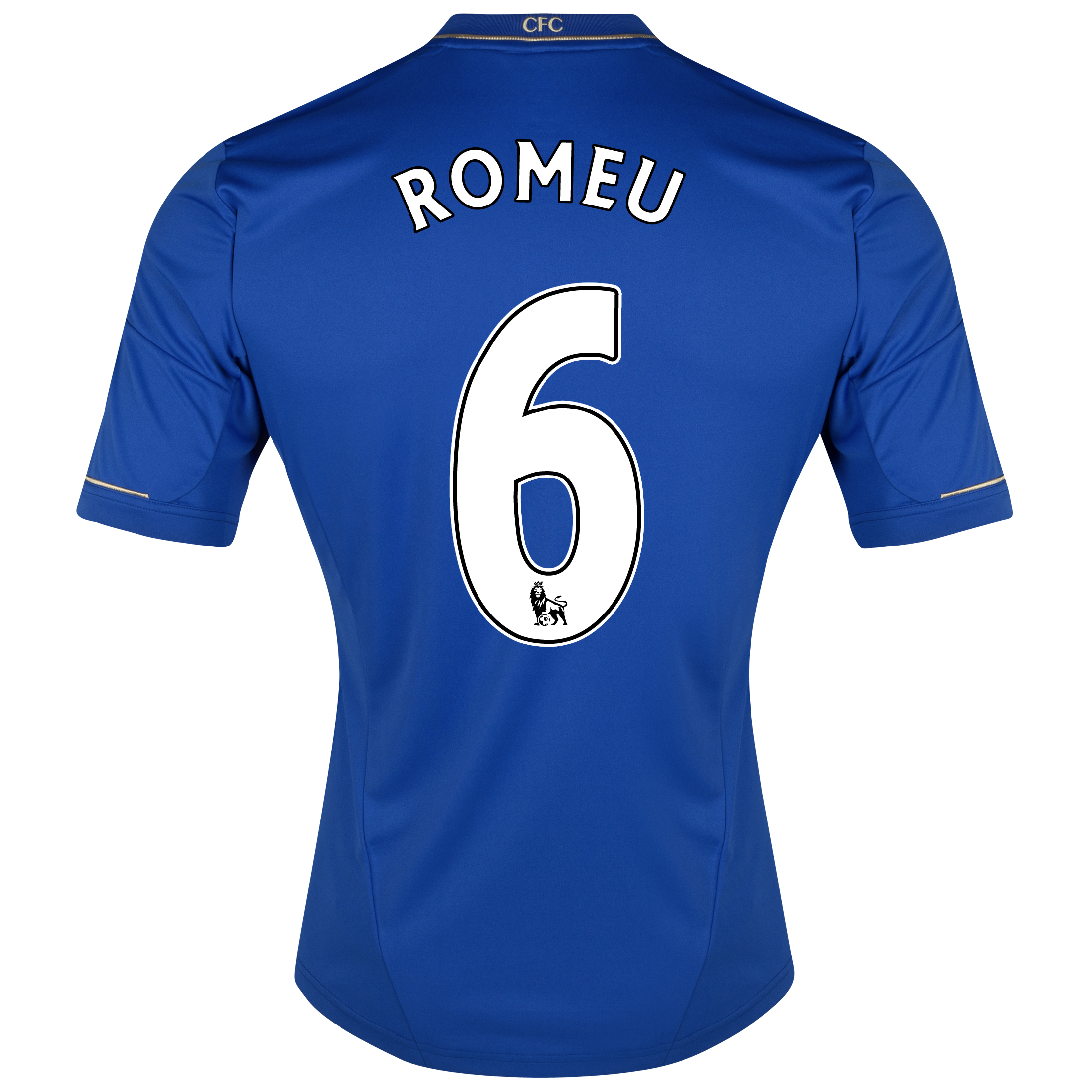 Chelsea Home Shirt 2012/13 - Outsize with Romeu 6 printing