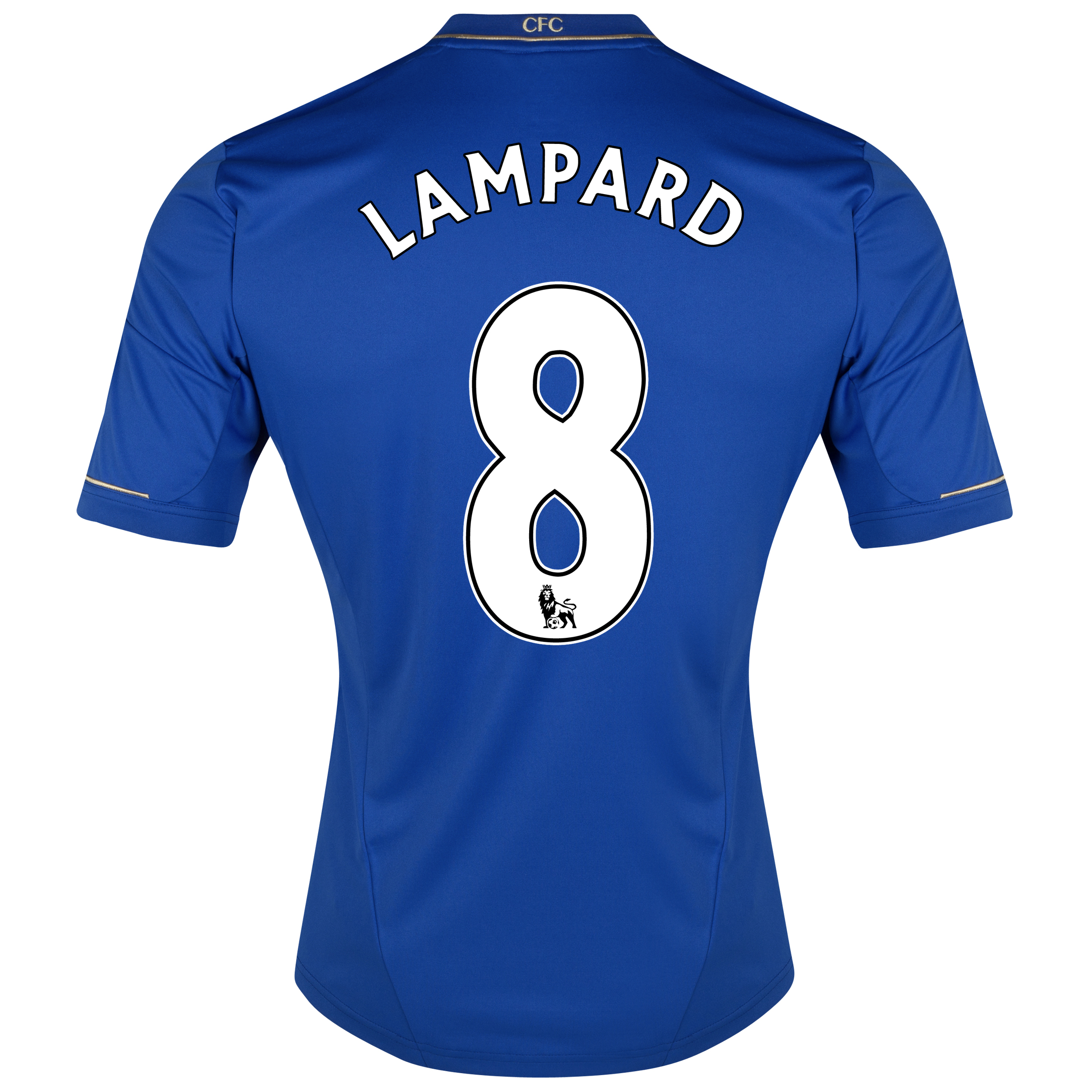 Chelsea Home Shirt 2012/13 - Outsize with Lampard 8 printing