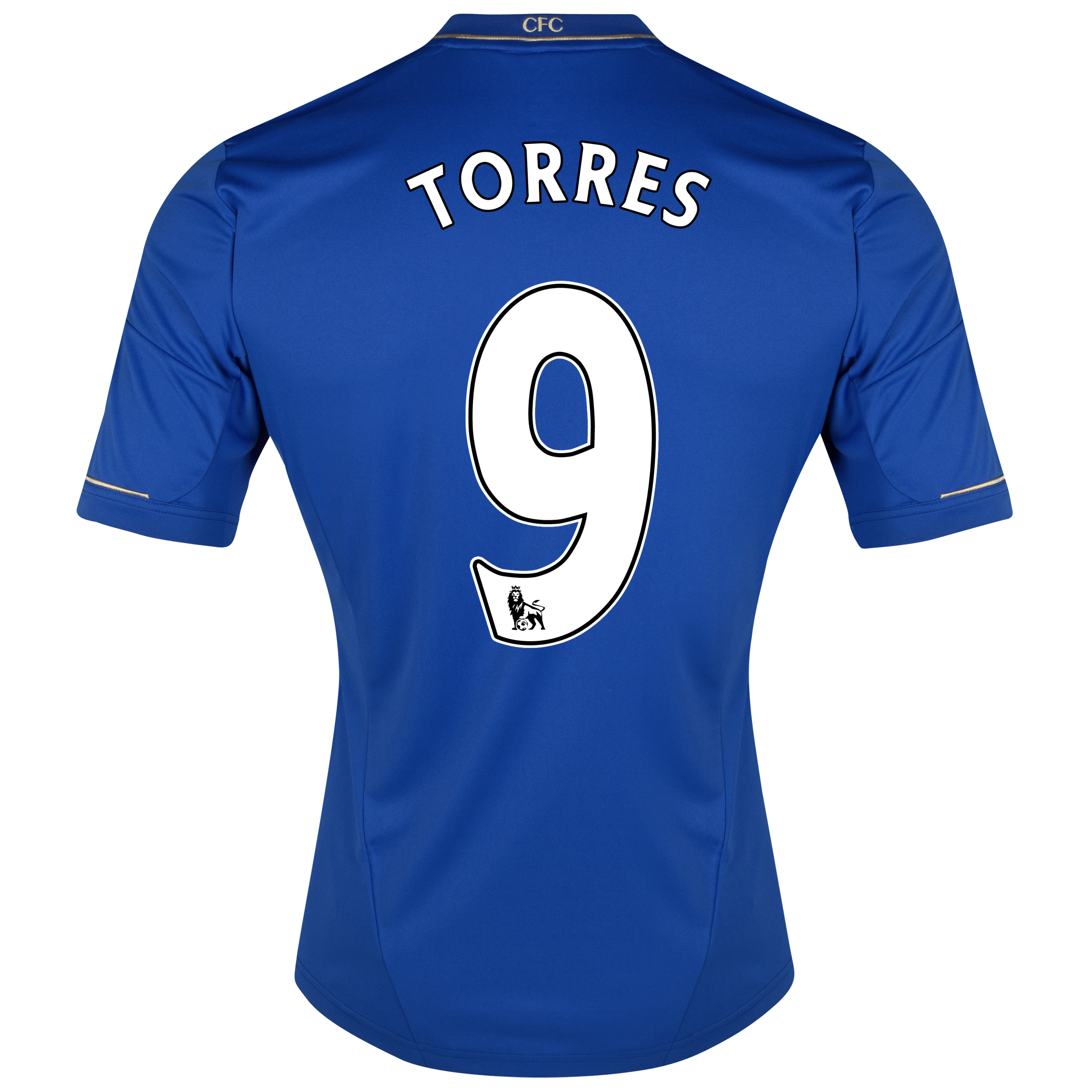 Chelsea Home Shirt 2012/13 - Outsize with Torres 9 printing