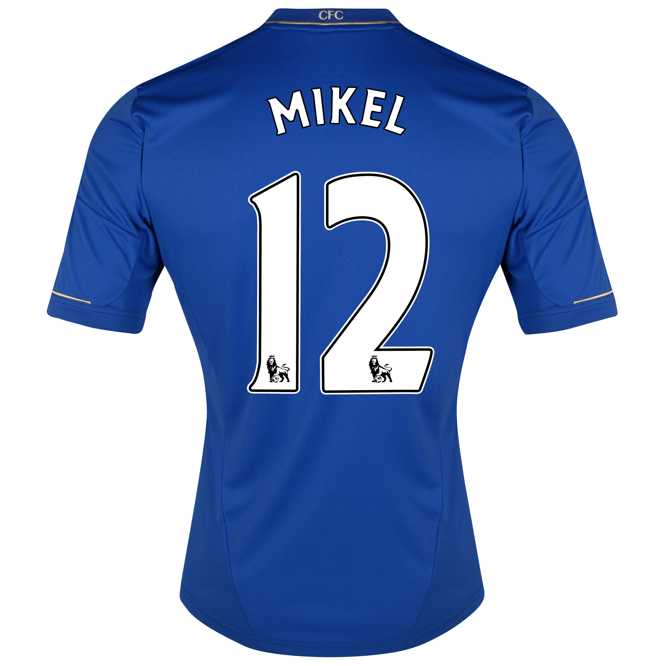 Chelsea Home Shirt 2012/13 - Outsize with Mikel 12 printing