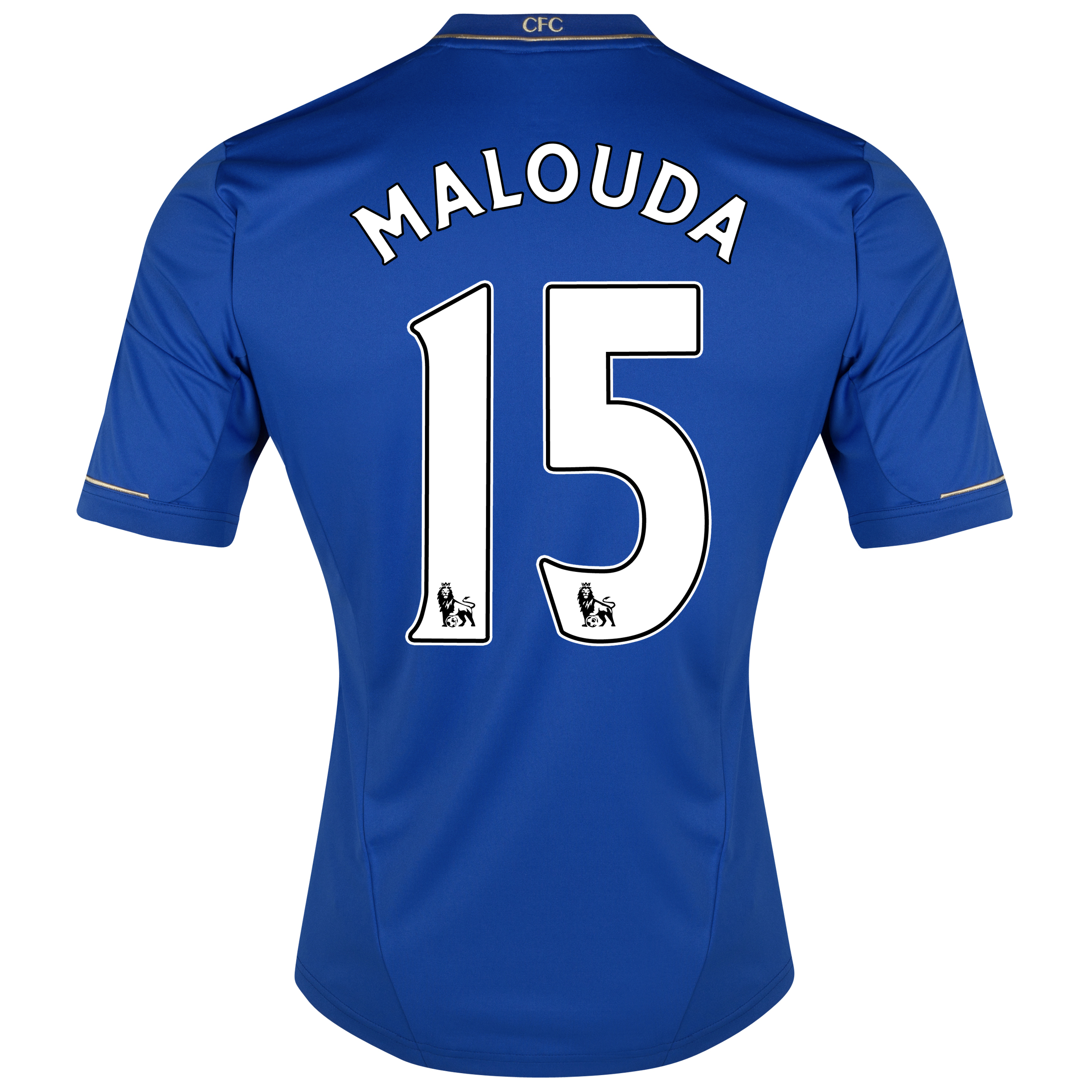 Chelsea Home Shirt 2012/13 - Outsize with Malouda 15 printing